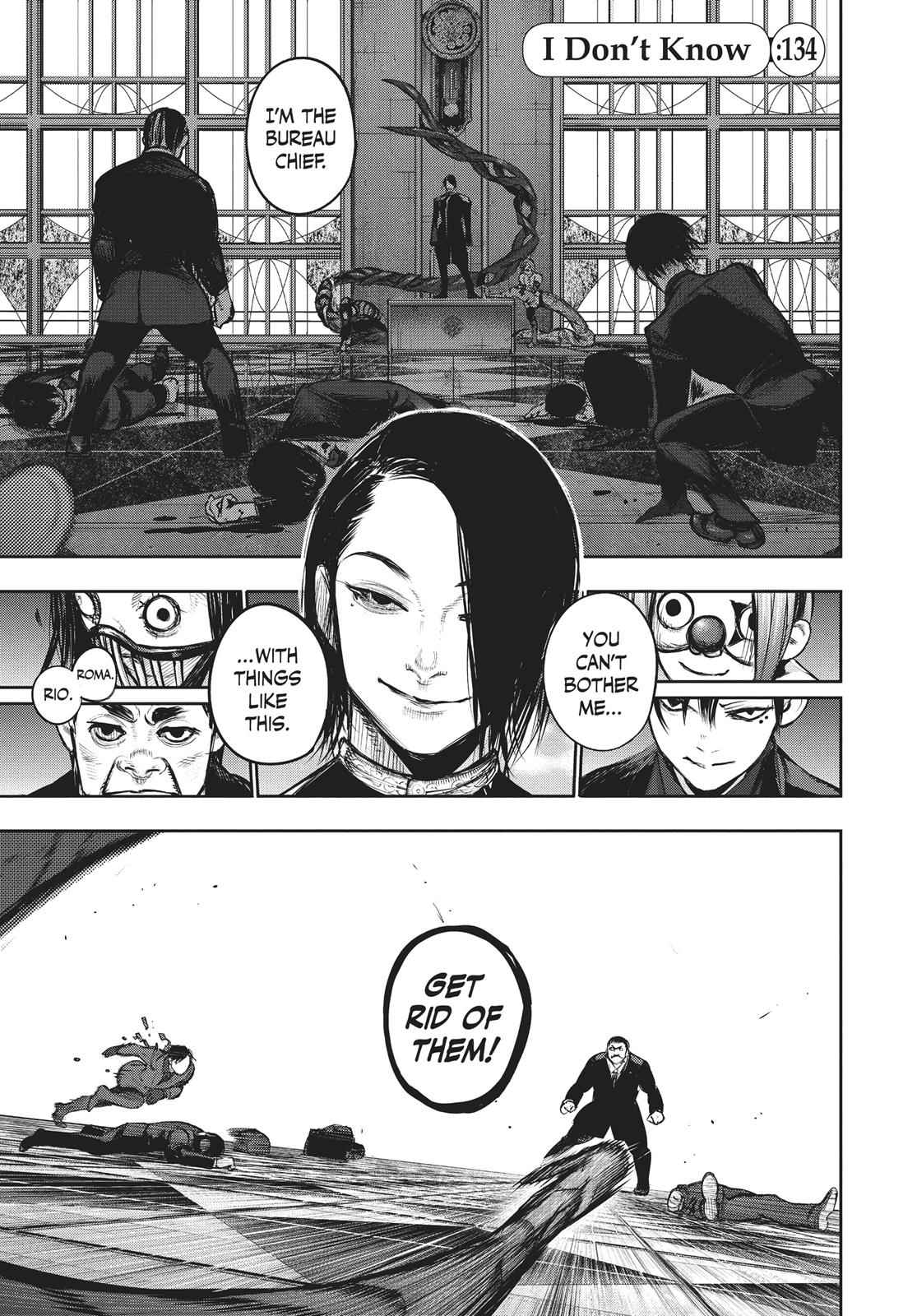 Tokyo Ghoul:re Chapter 134 Page 1
