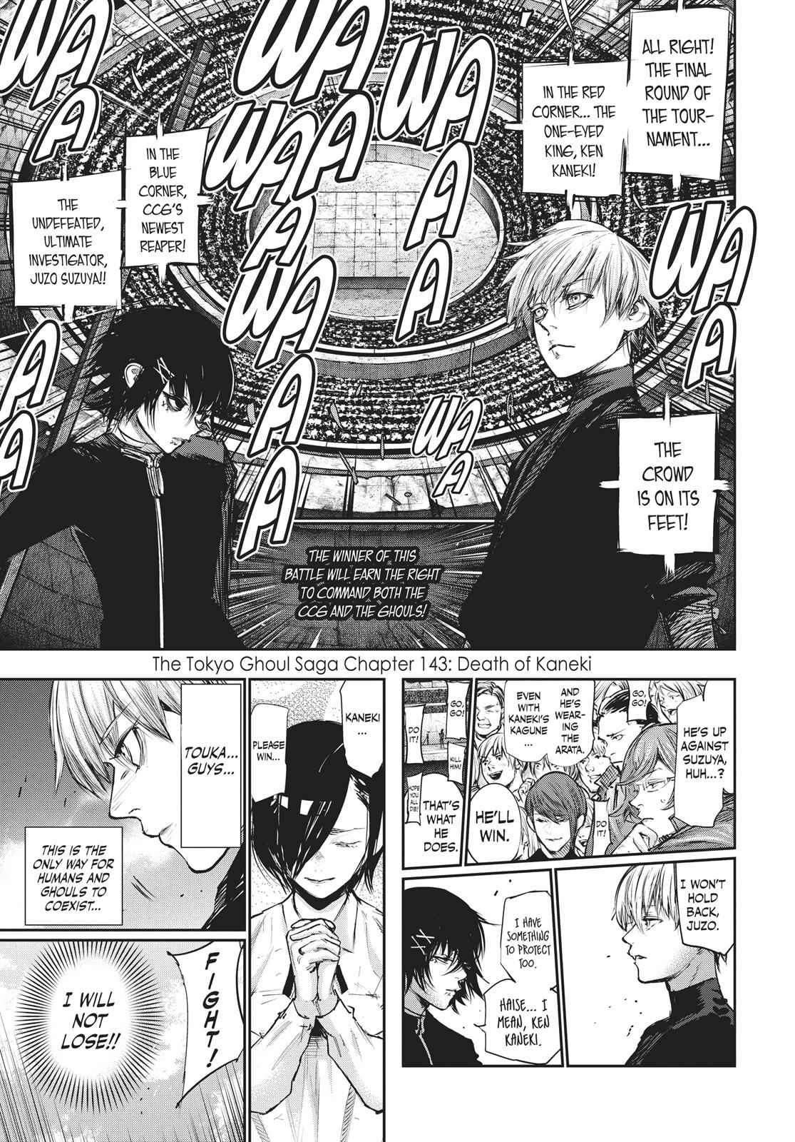Tokyo Ghoul:re Chapter 144 Page 1