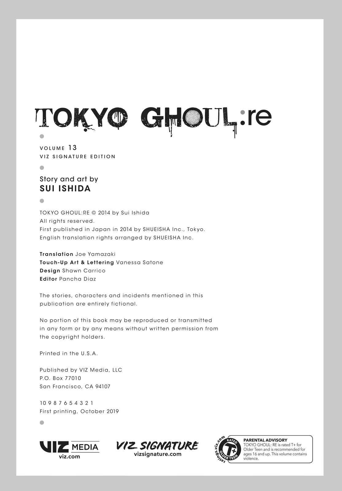 Tokyo Ghoul:re Chapter 144 Page 23