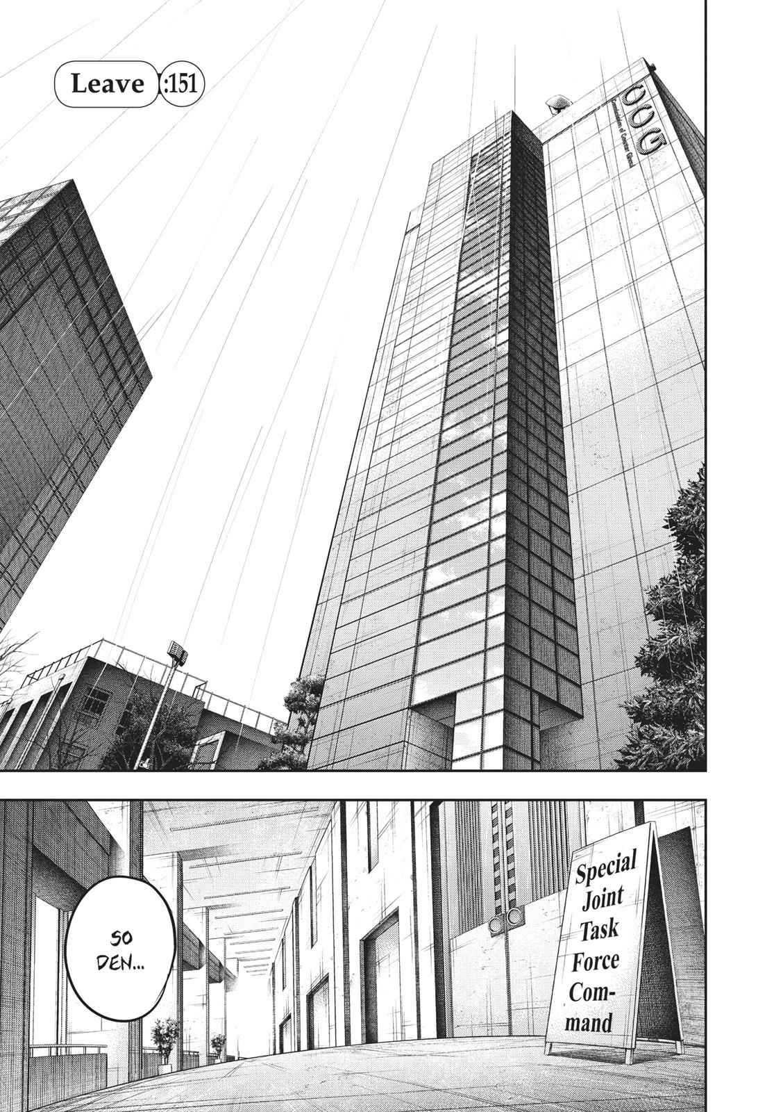 Tokyo Ghoul:re Chapter 151 Page 1