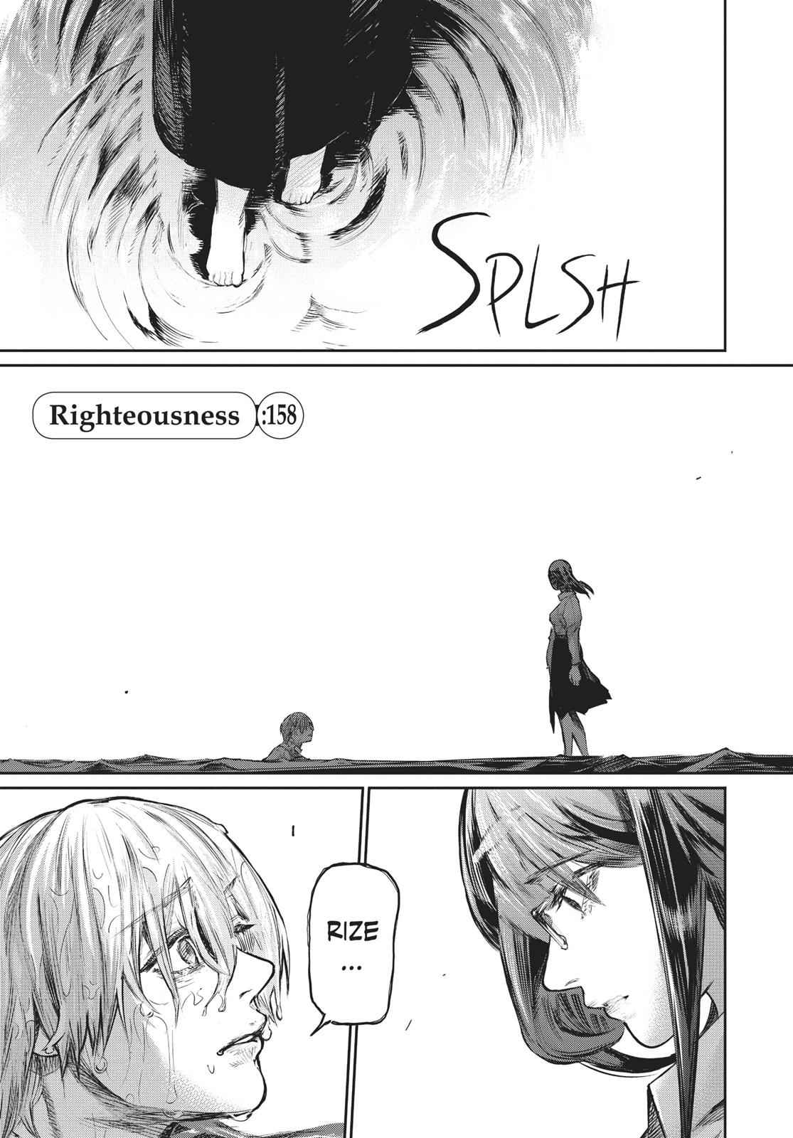 Tokyo Ghoul:re Chapter 158 Page 1