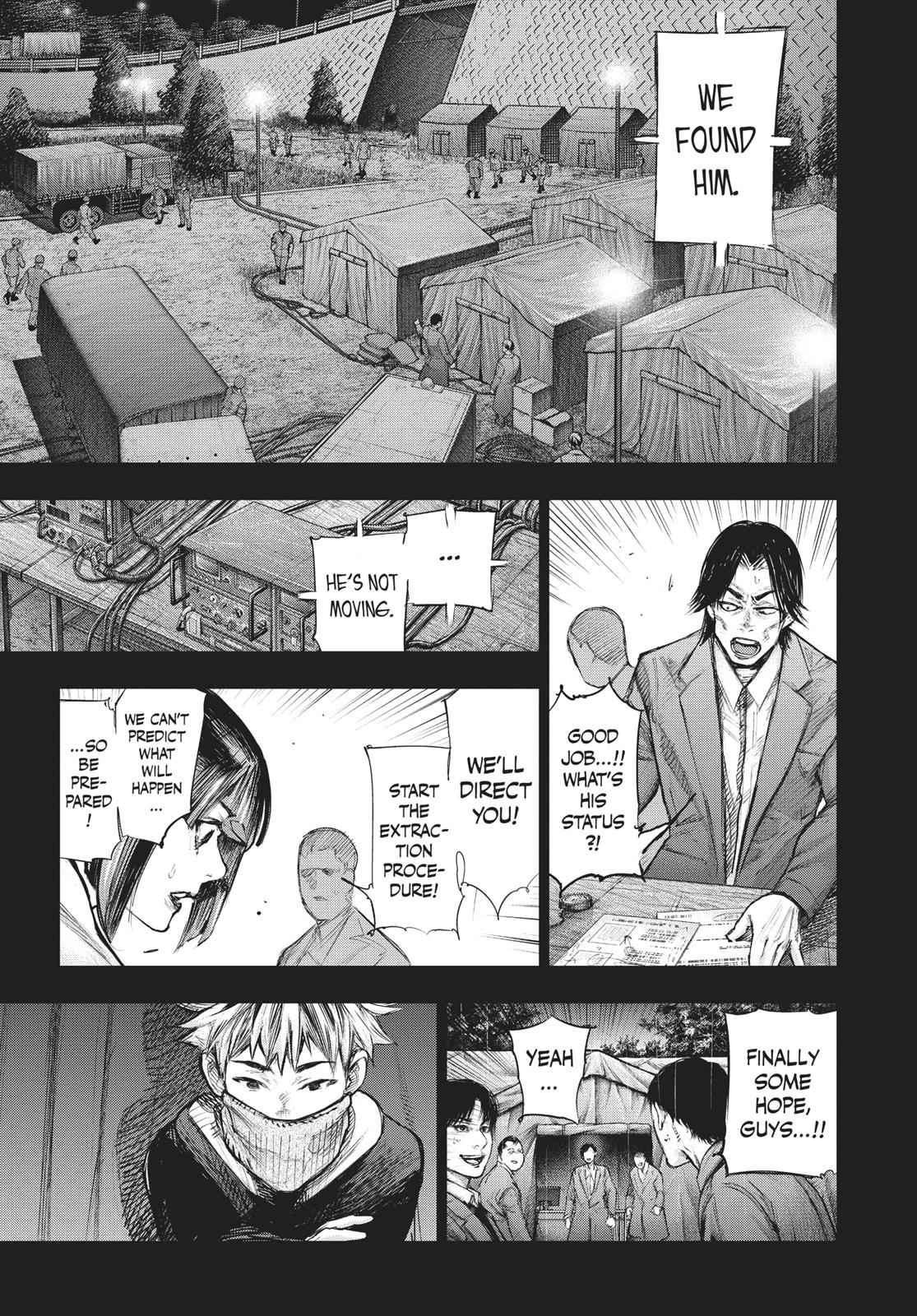 Tokyo Ghoul:re Chapter 161 Page 3
