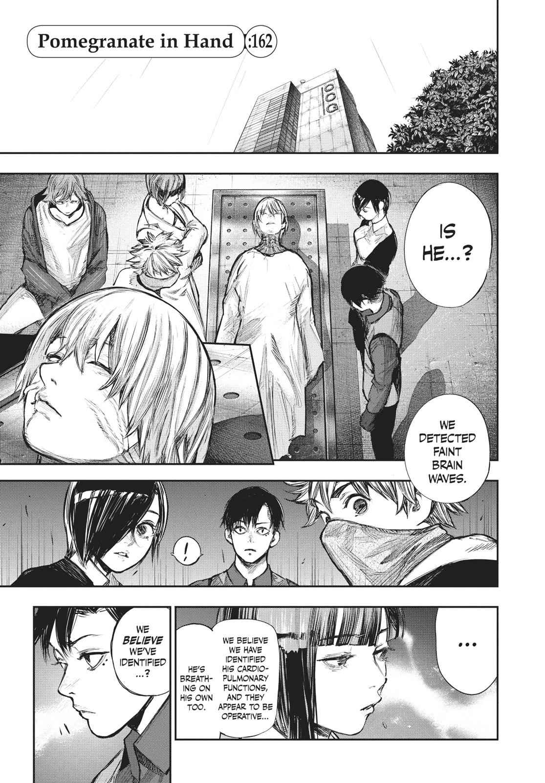 Tokyo Ghoul:re Chapter 162 Page 1