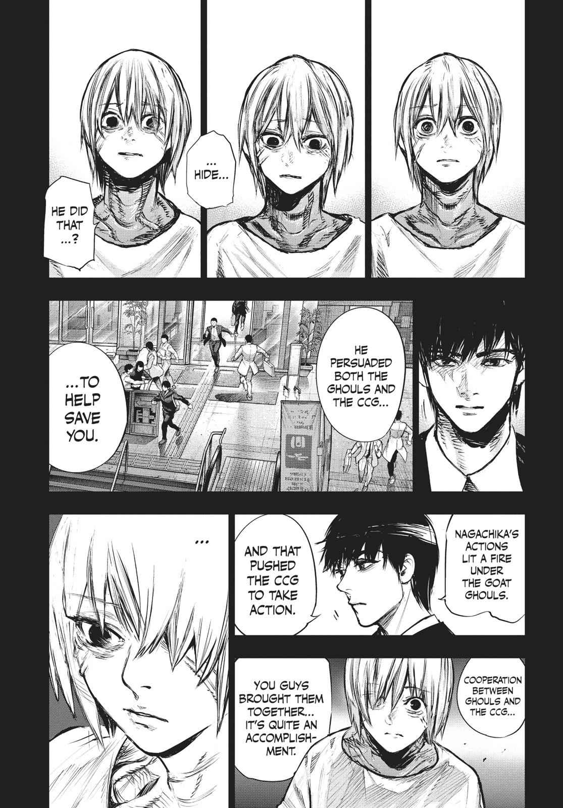 Tokyo Ghoul:re Chapter 163 Page 8