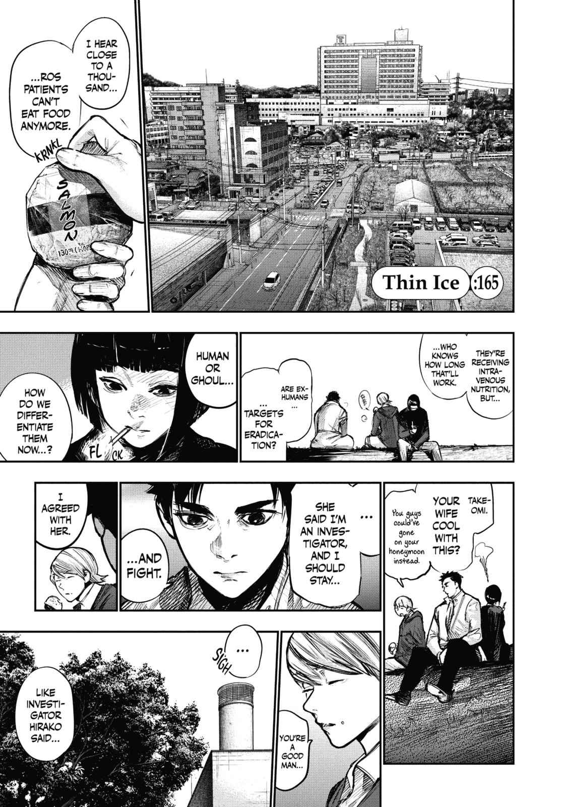 Tokyo Ghoul:re Chapter 165 Page 6