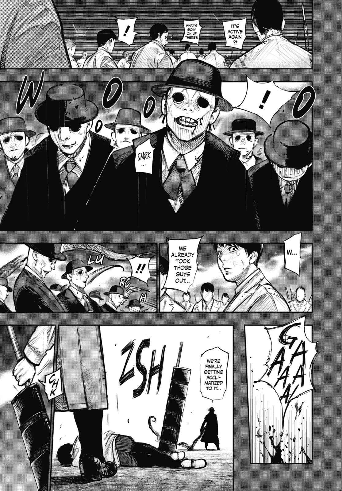 Tokyo Ghoul:re Chapter 167 Page 3
