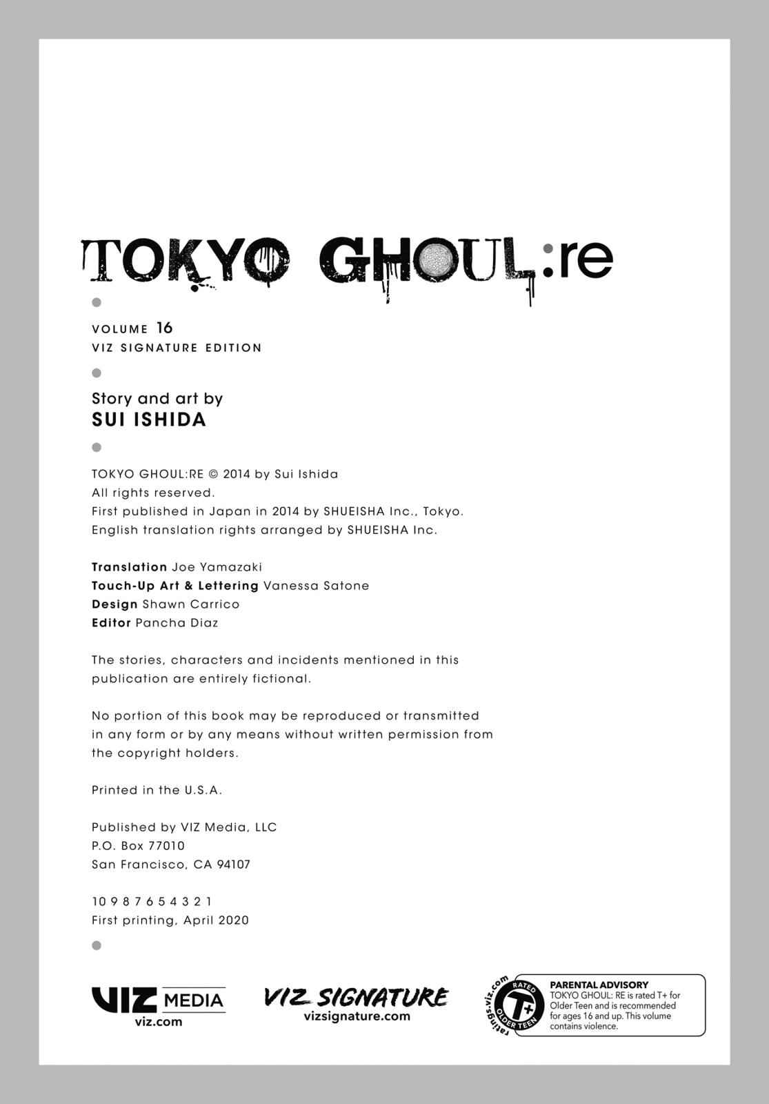 Tokyo Ghoul:re Chapter 179 Page 41
