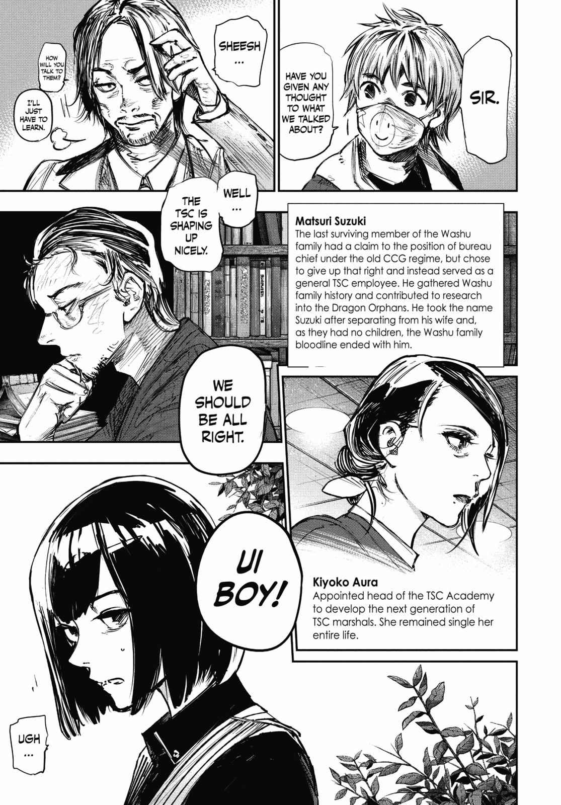 Tokyo Ghoul:re Chapter 179 Page 5