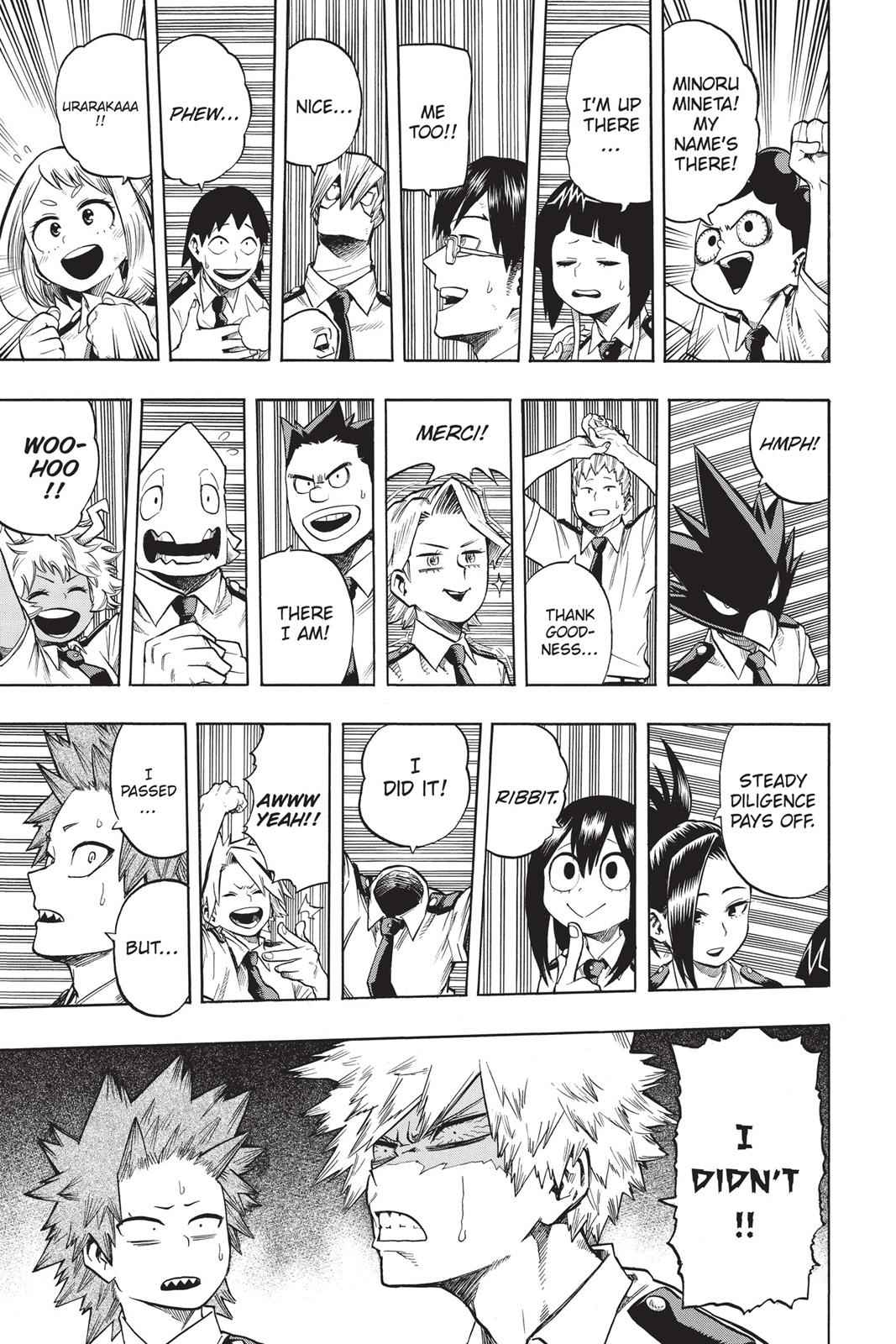 Boku no Hero Academia Chapter 114 Page 3