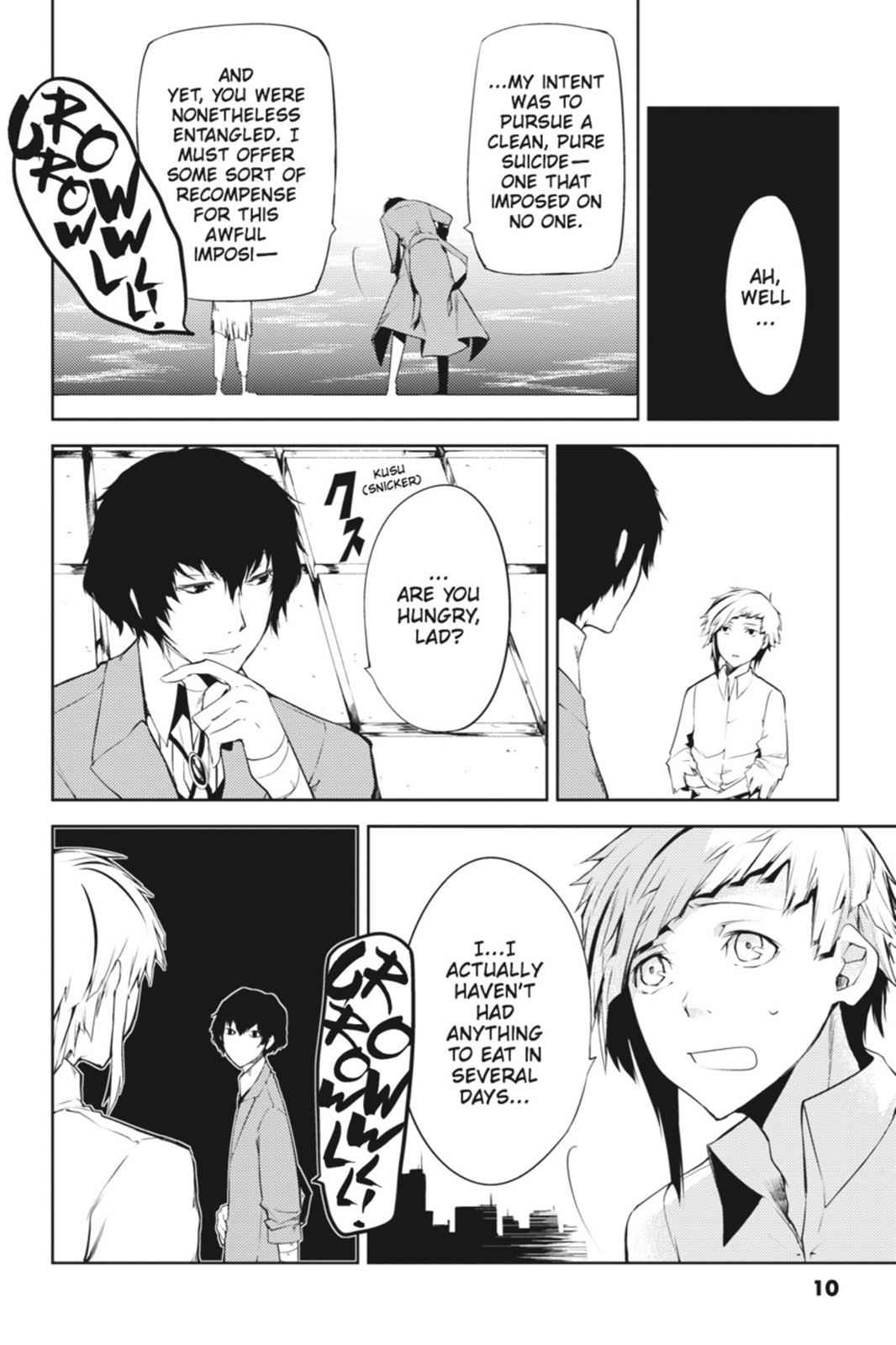 Bungou Stray Dogs Chapter 1 Page 10