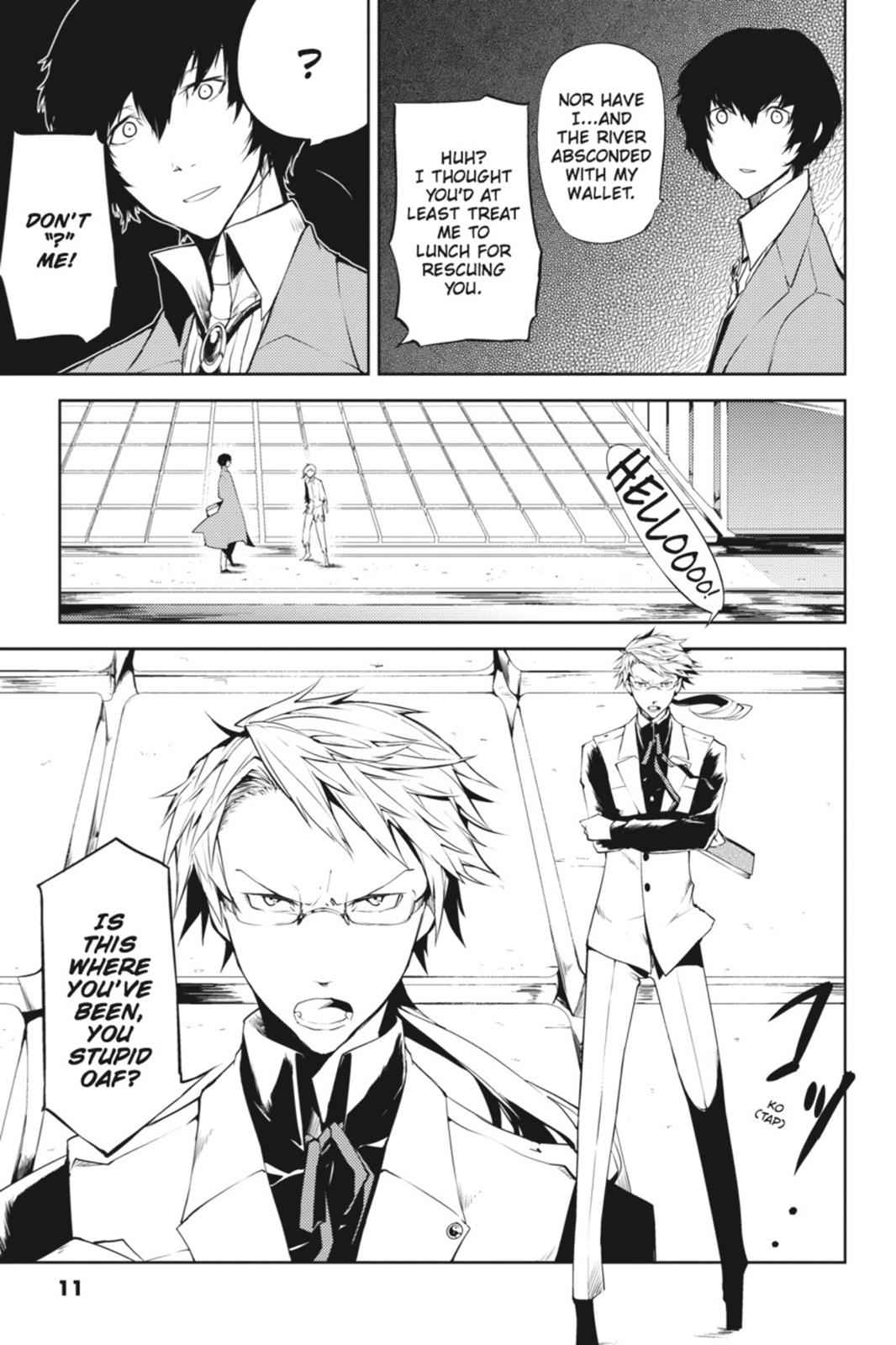 Bungou Stray Dogs Chapter 1 Page 11