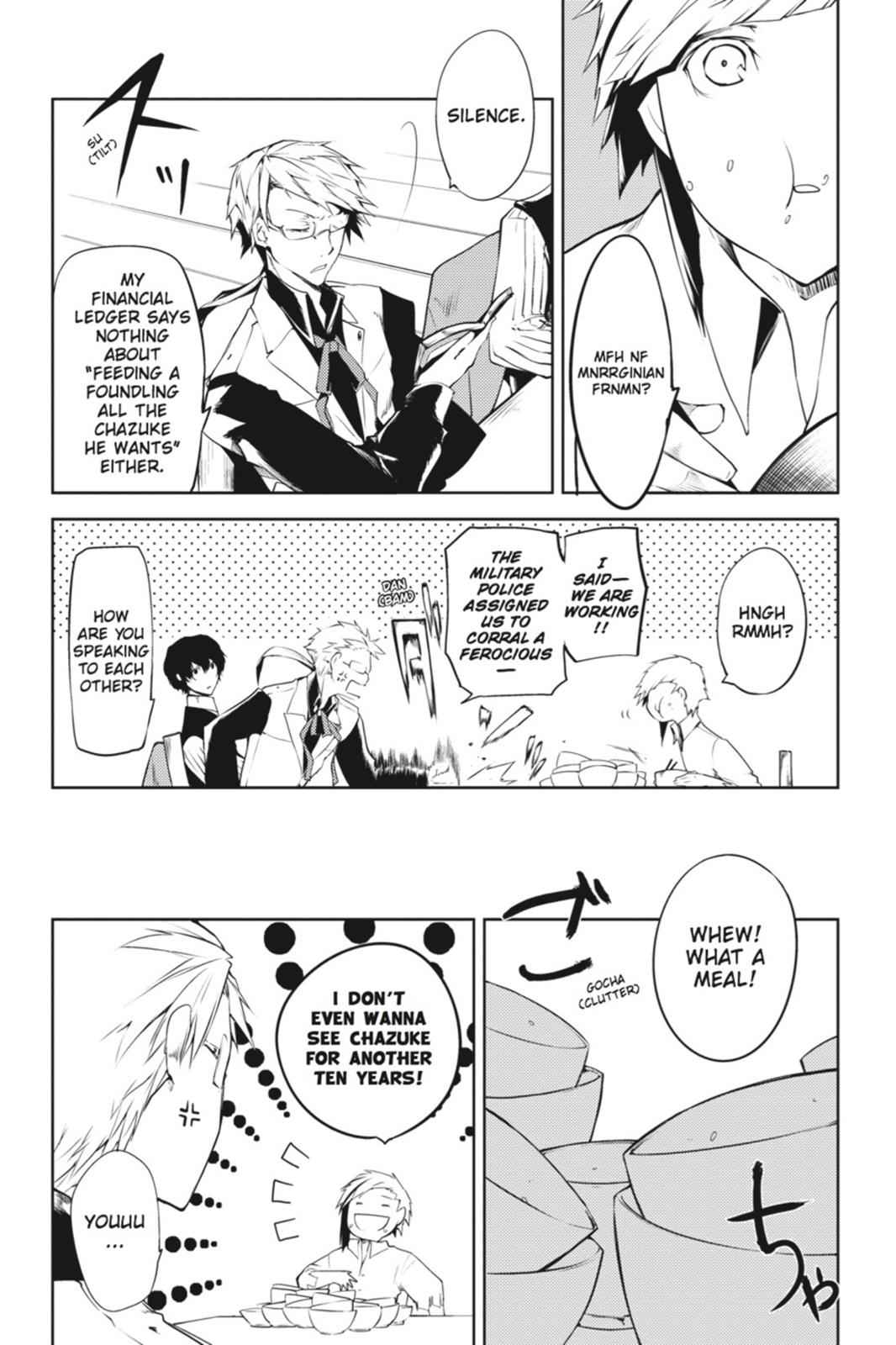 Bungou Stray Dogs Chapter 1 Page 16