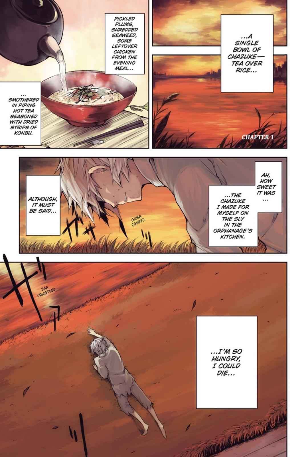 Bungou Stray Dogs Chapter 1 Page 2