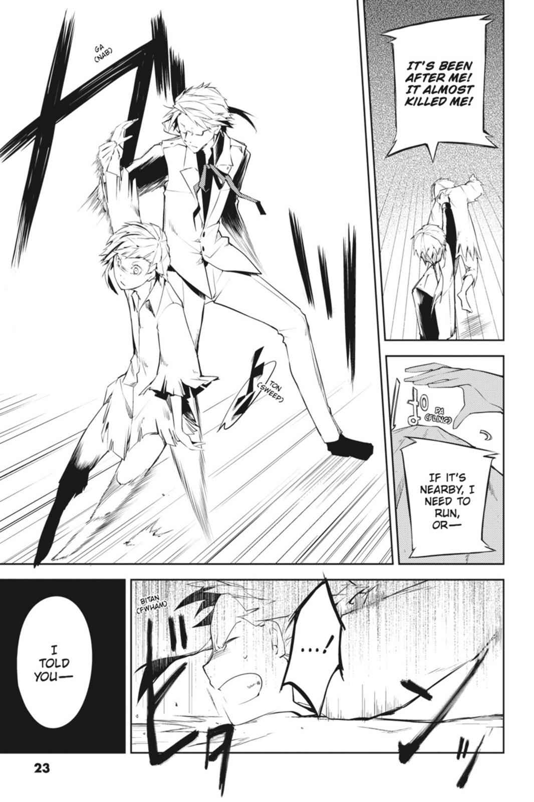 Bungou Stray Dogs Chapter 1 Page 23