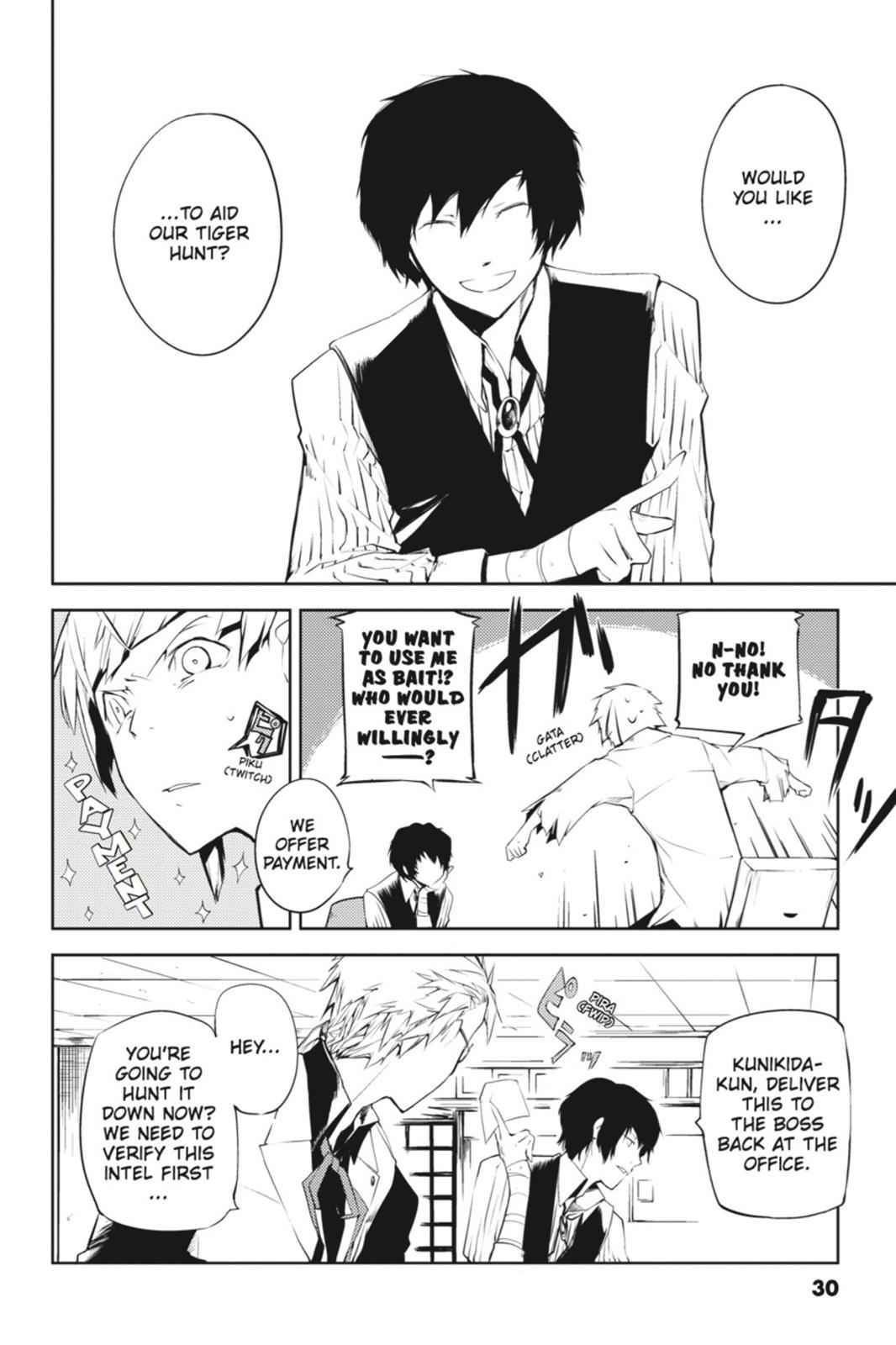 Bungou Stray Dogs Chapter 1 Page 30