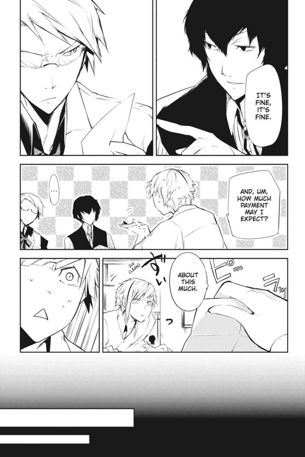 Bungou Stray Dogs Chapter 1 Page 31