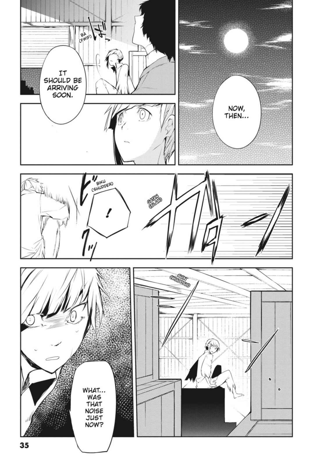 Bungou Stray Dogs Chapter 1 Page 35
