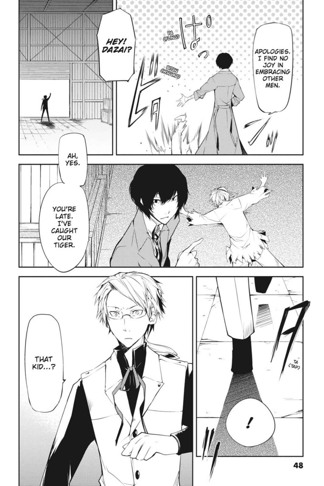 Bungou Stray Dogs Chapter 1 Page 48