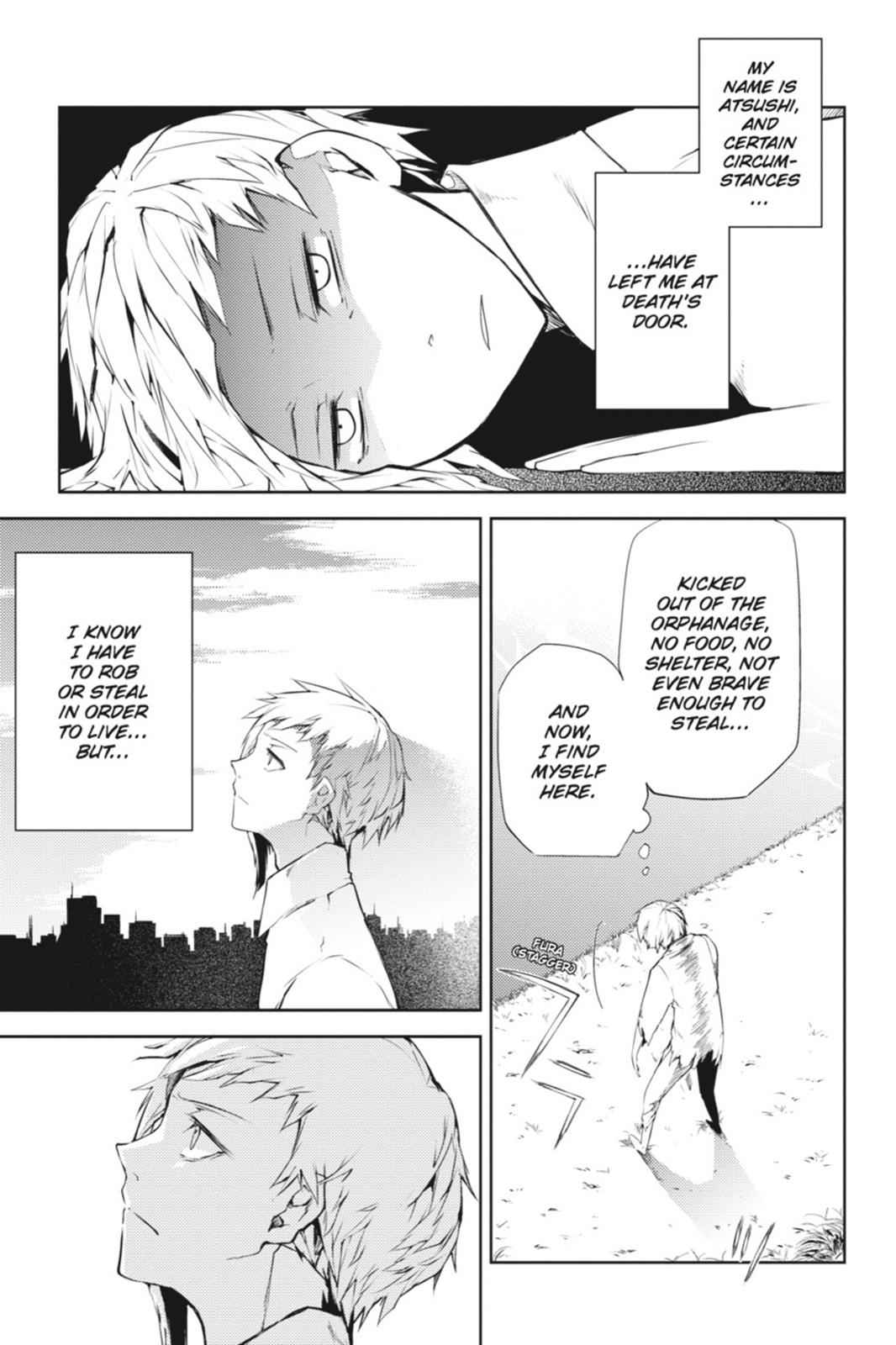 Bungou Stray Dogs Chapter 1 Page 5