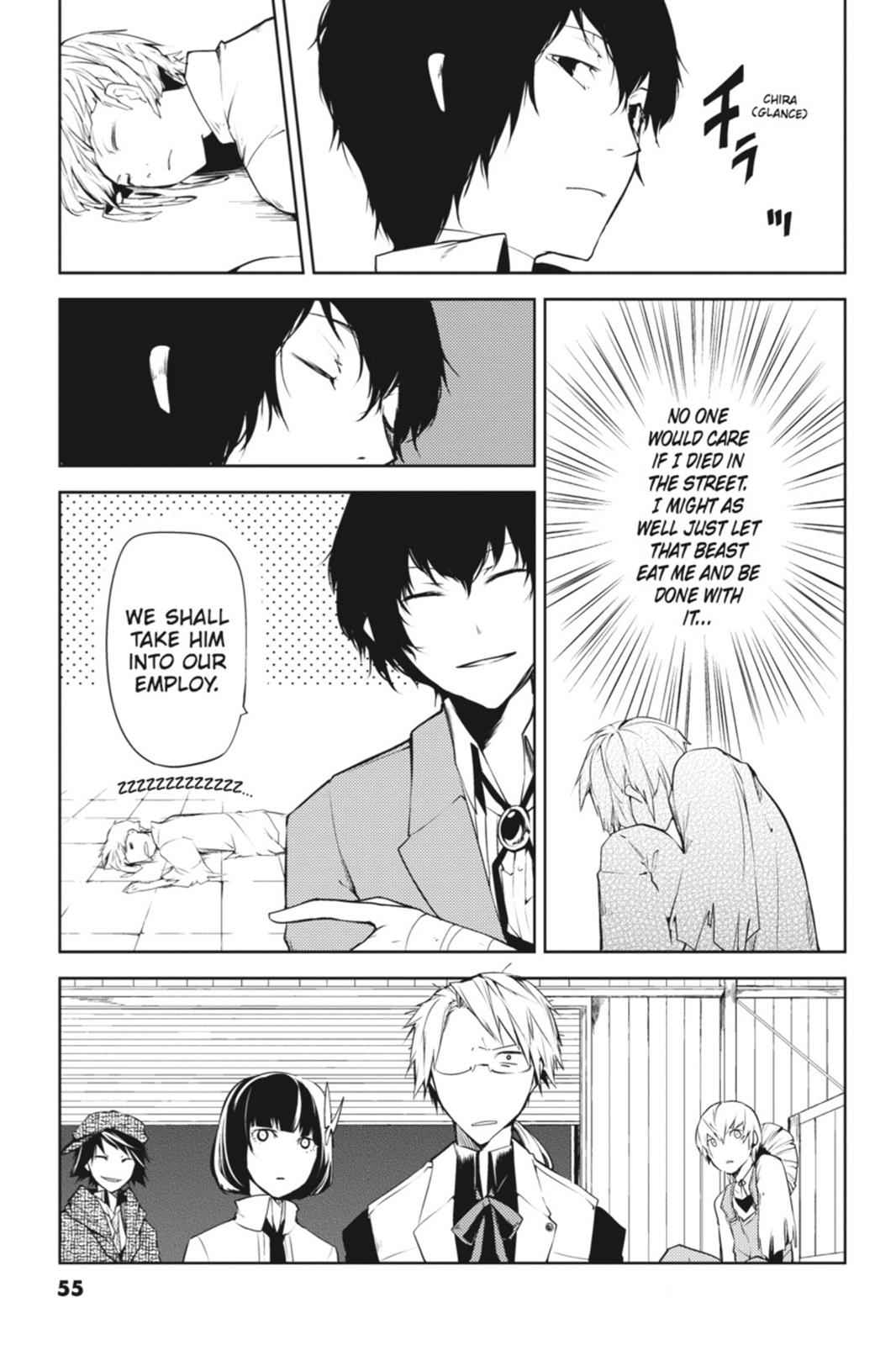 Bungou Stray Dogs Chapter 1 Page 54