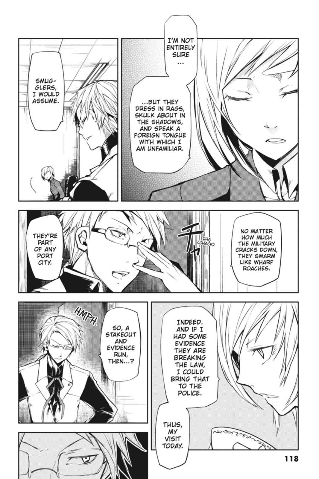 Bungou Stray Dogs Chapter 3 Page 16