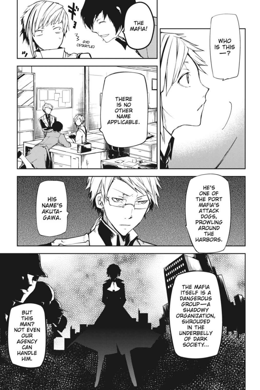 Bungou Stray Dogs Chapter 3 Page 19
