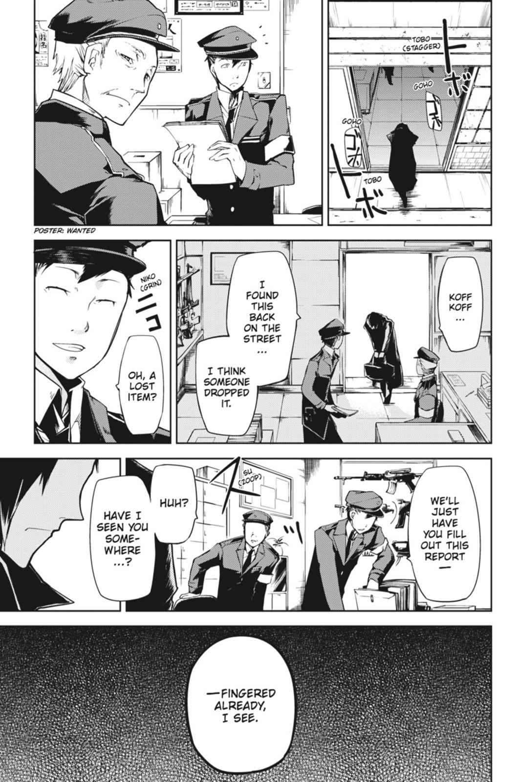 Bungou Stray Dogs Chapter 3 Page 21