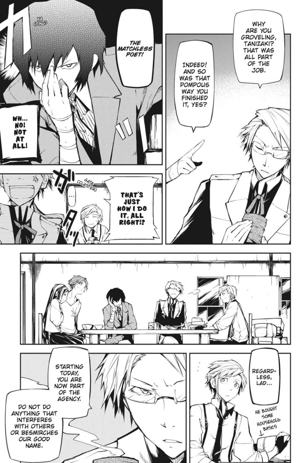 Bungou Stray Dogs Chapter 3 Page 3