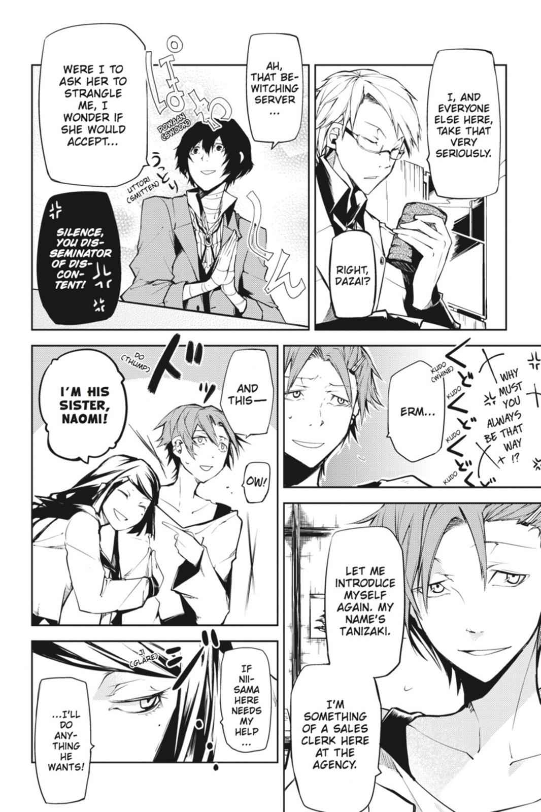Bungou Stray Dogs Chapter 3 Page 4