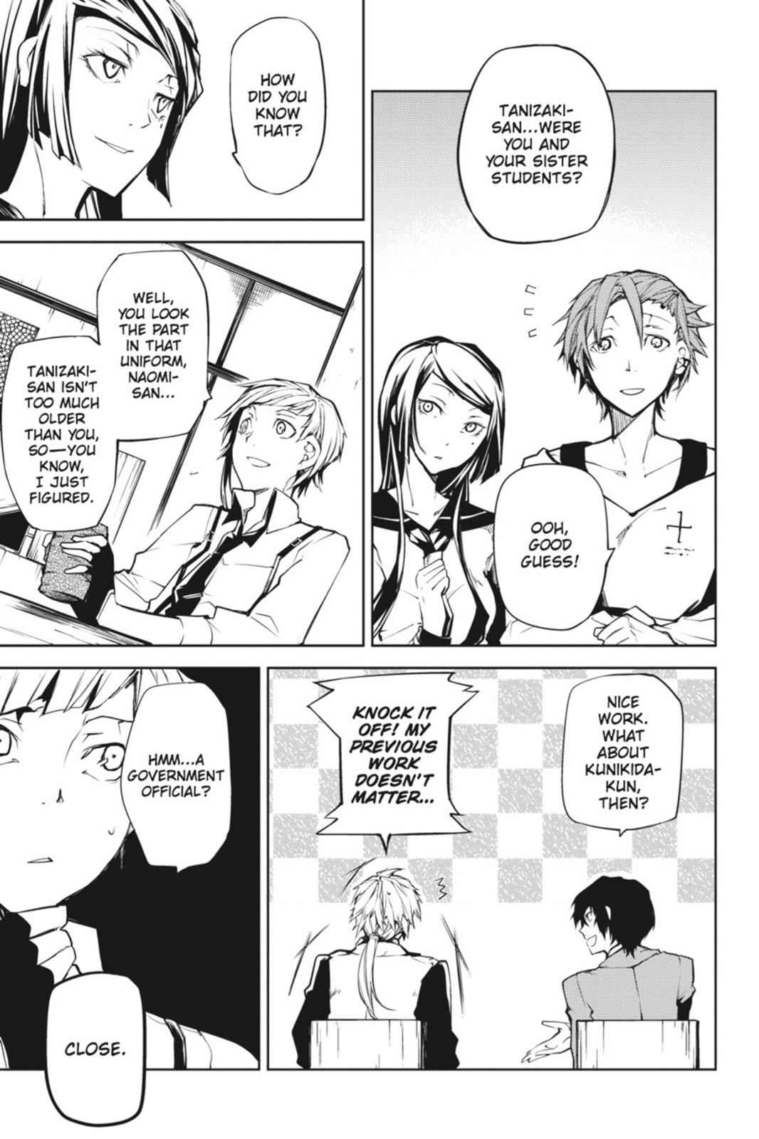 Bungou Stray Dogs Chapter 3 Page 7