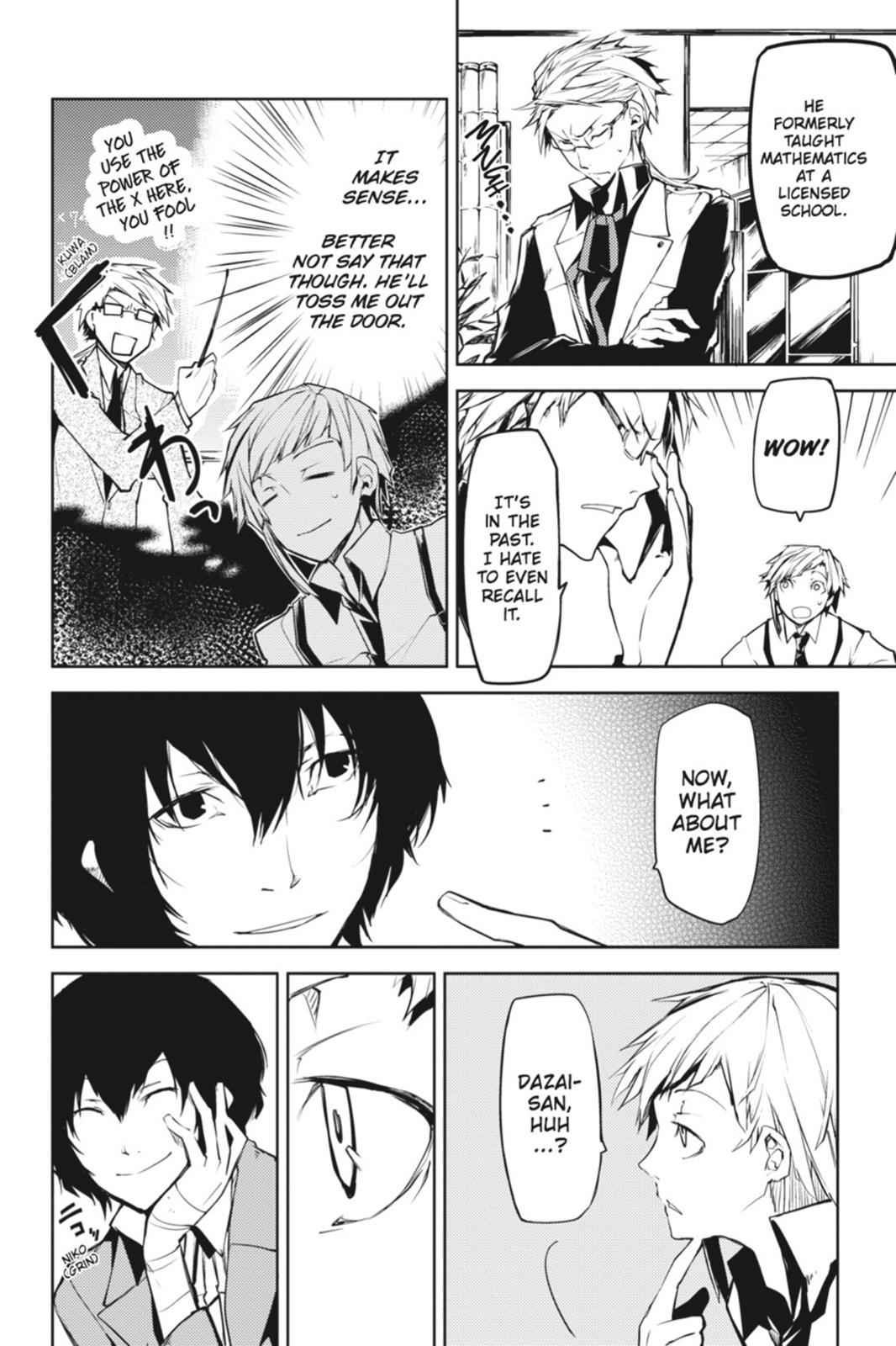 Bungou Stray Dogs Chapter 3 Page 8