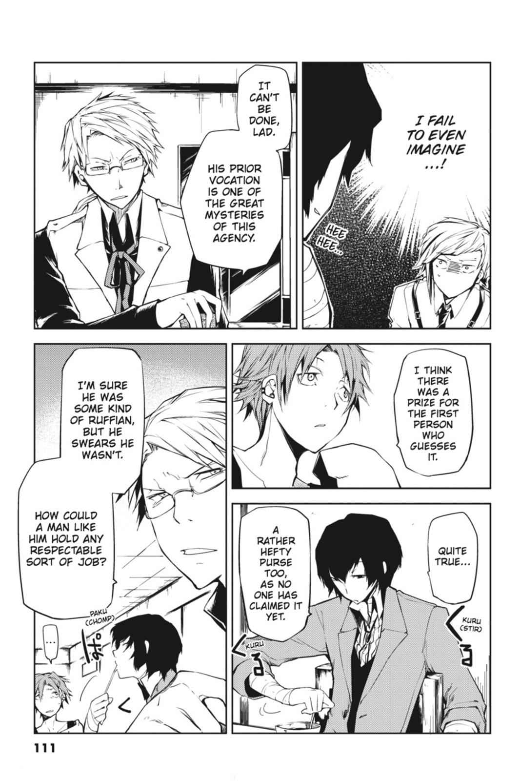 Bungou Stray Dogs Chapter 3 Page 9
