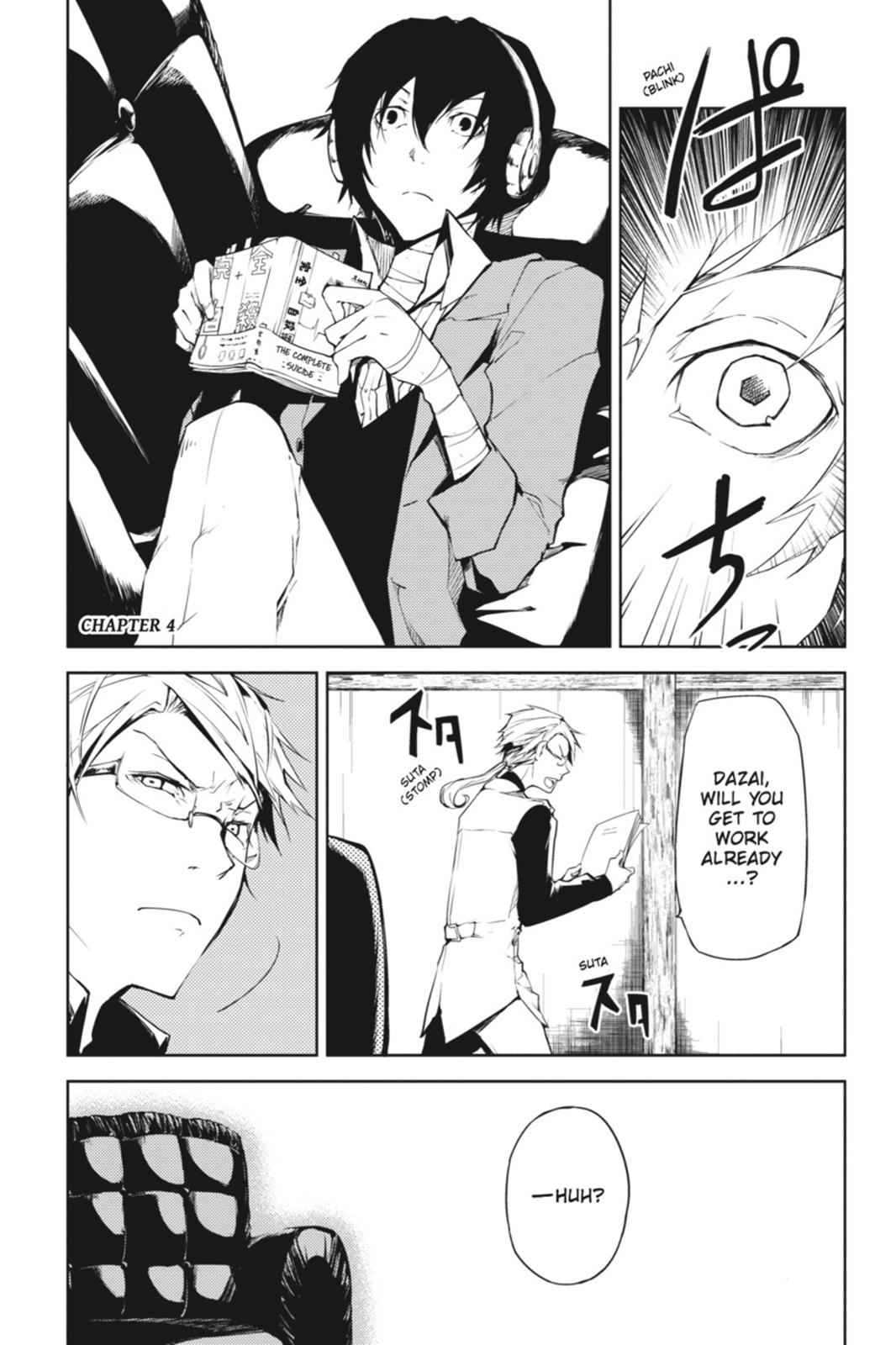 Bungou Stray Dogs Chapter 4 Page 1