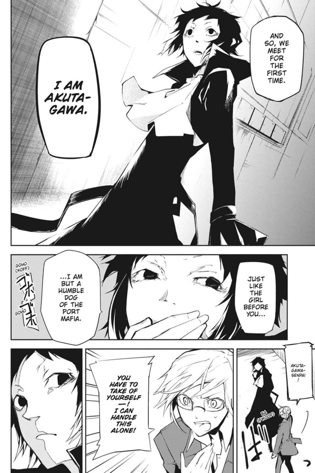 Bungou Stray Dogs Chapter 4 Page 16