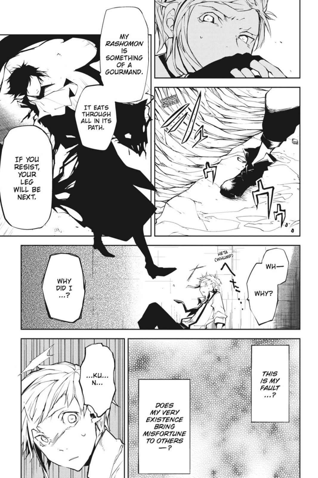 Bungou Stray Dogs Chapter 4 Page 21