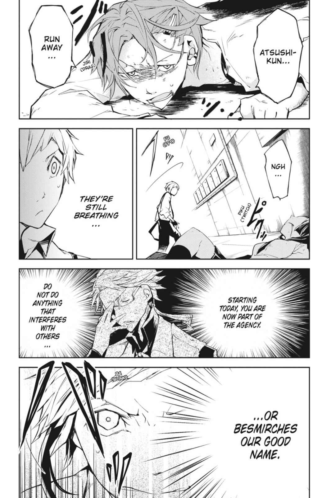 Bungou Stray Dogs Chapter 4 Page 22