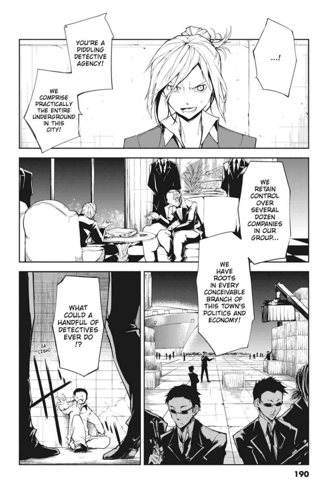 Bungou Stray Dogs Chapter 4 Page 49