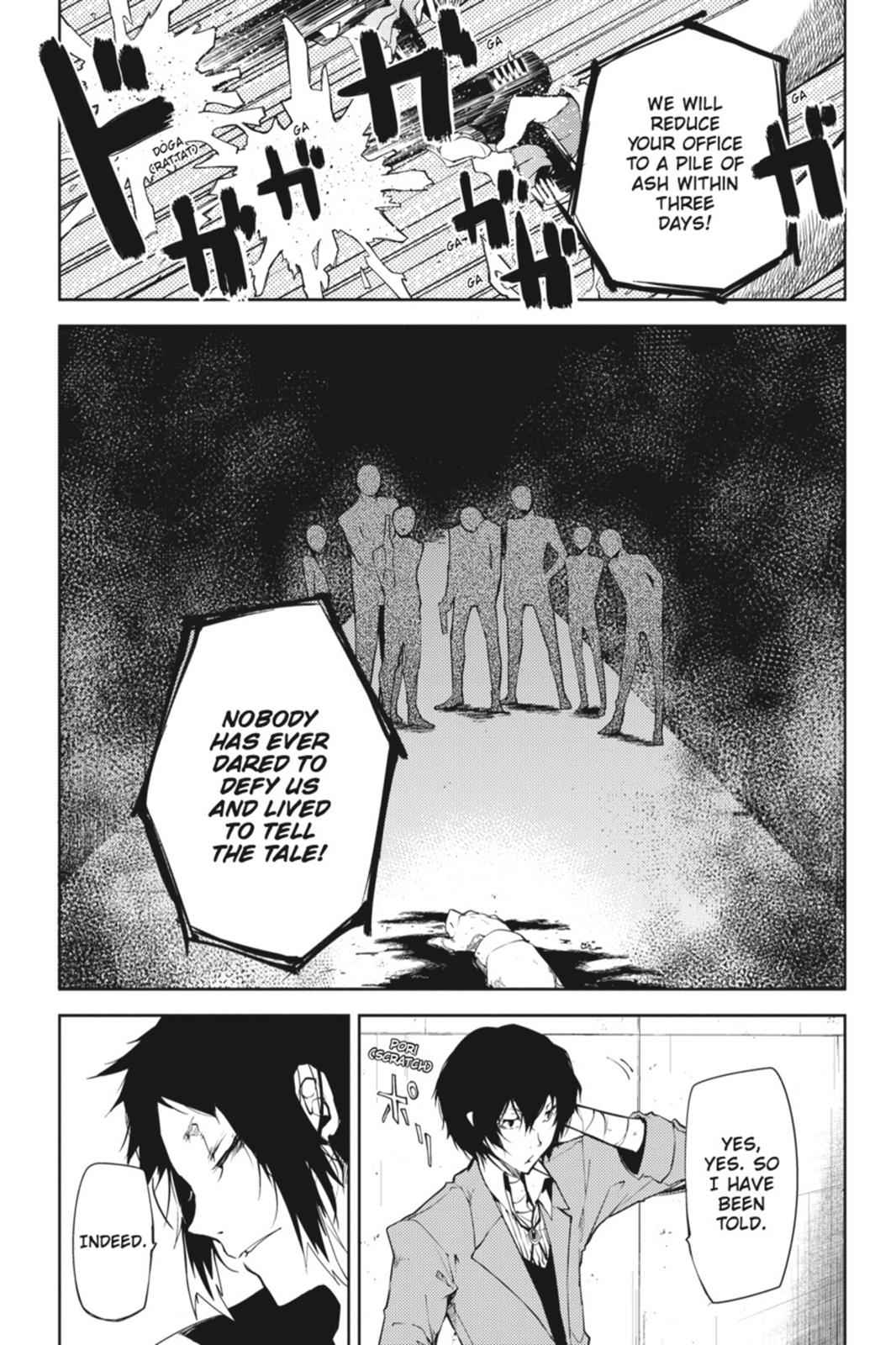 Bungou Stray Dogs Chapter 4 Page 50