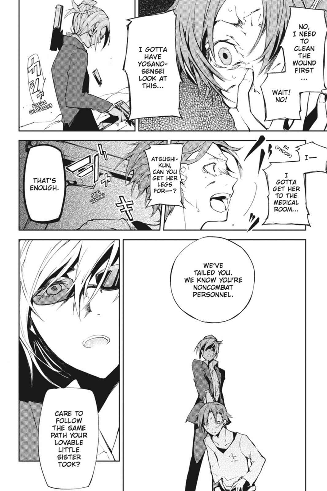 Bungou Stray Dogs Chapter 4 Page 6