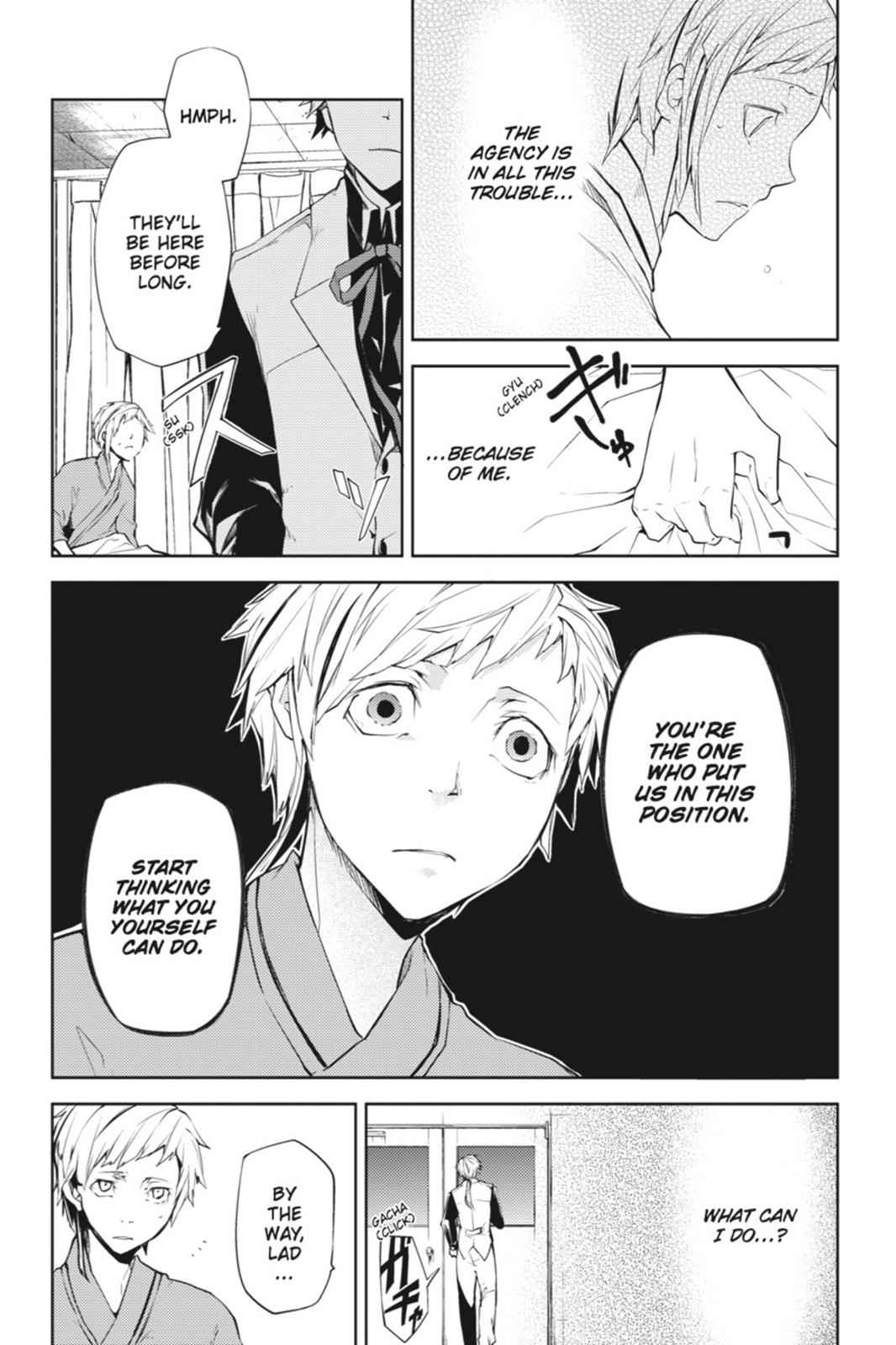Bungou Stray Dogs Chapter 5 Page 10