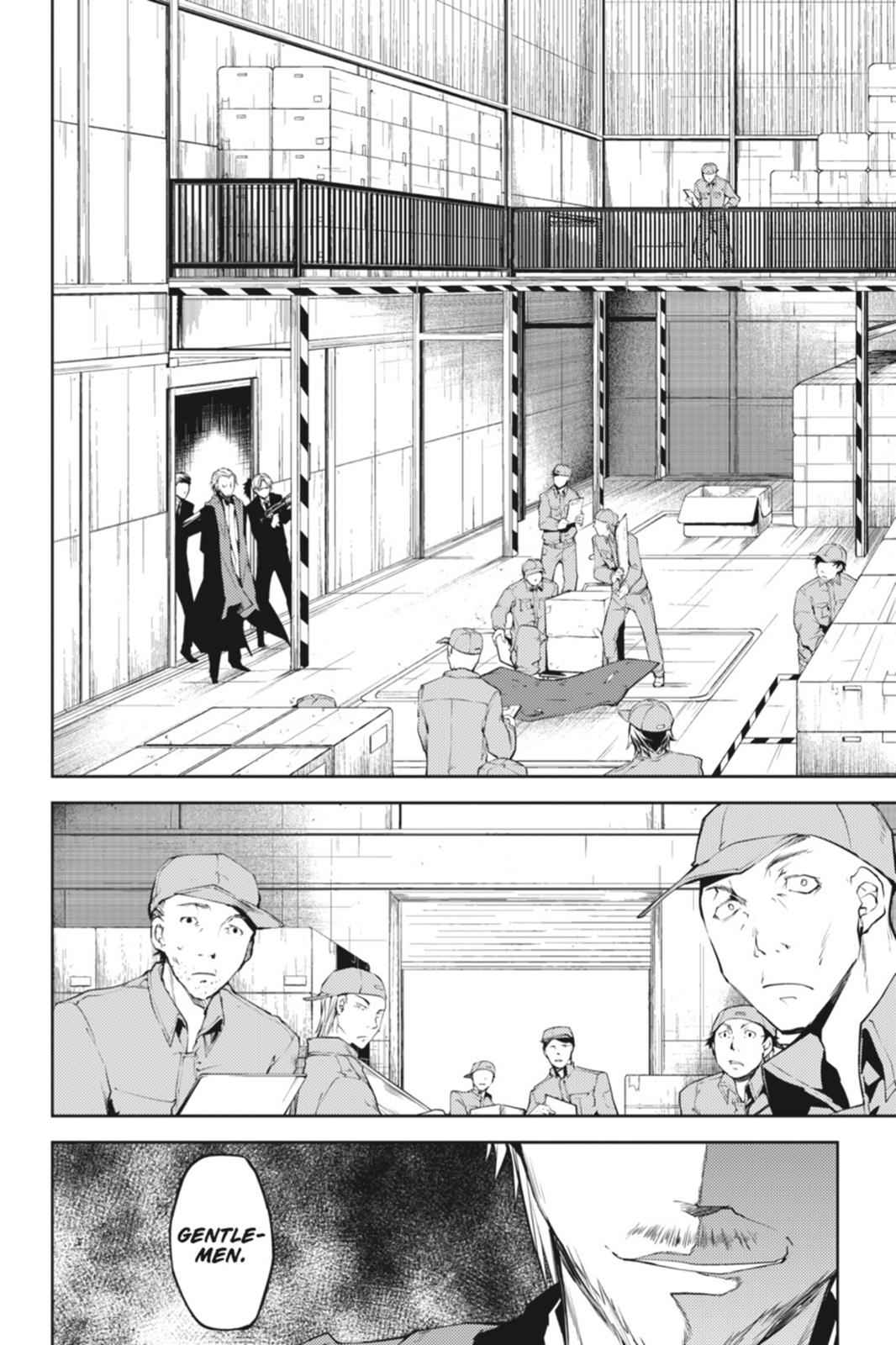 Bungou Stray Dogs Chapter 5 Page 14