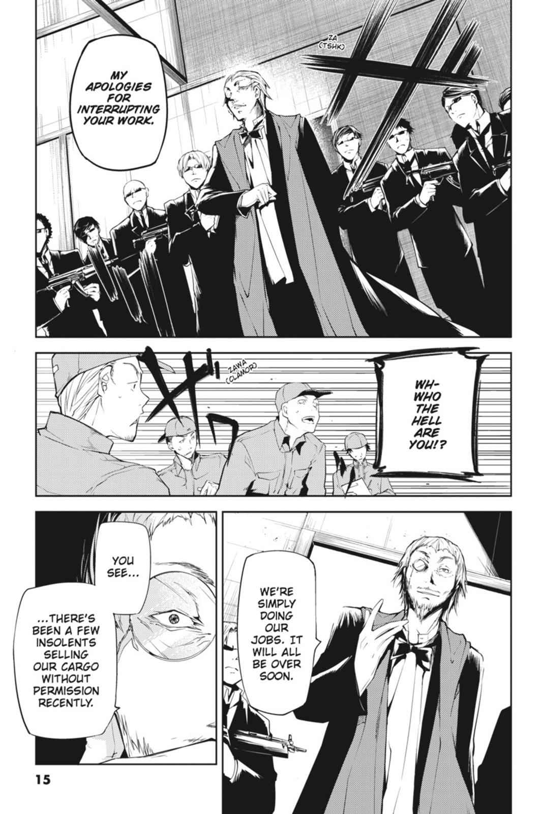 Bungou Stray Dogs Chapter 5 Page 15