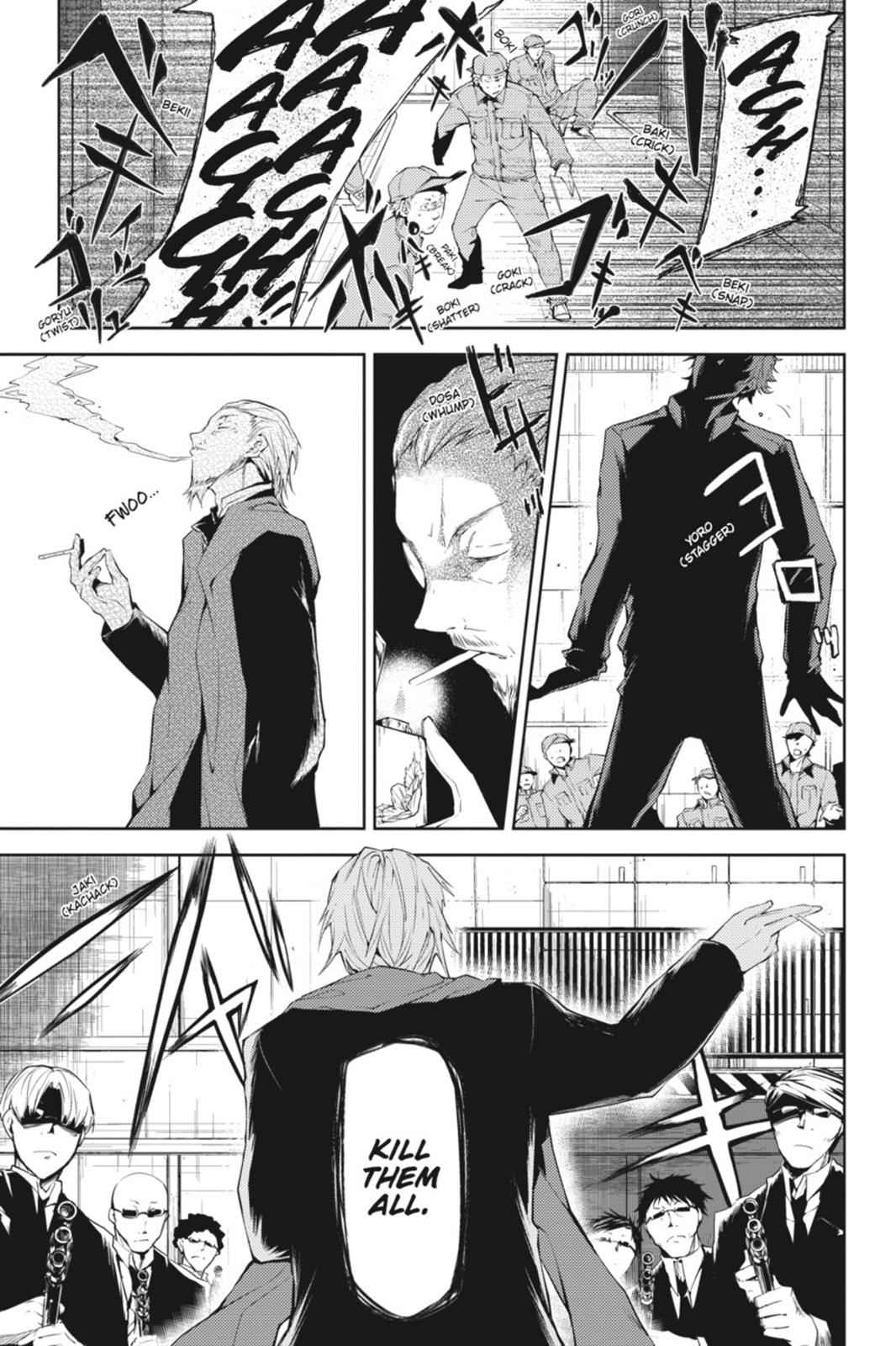 Bungou Stray Dogs Chapter 5 Page 19