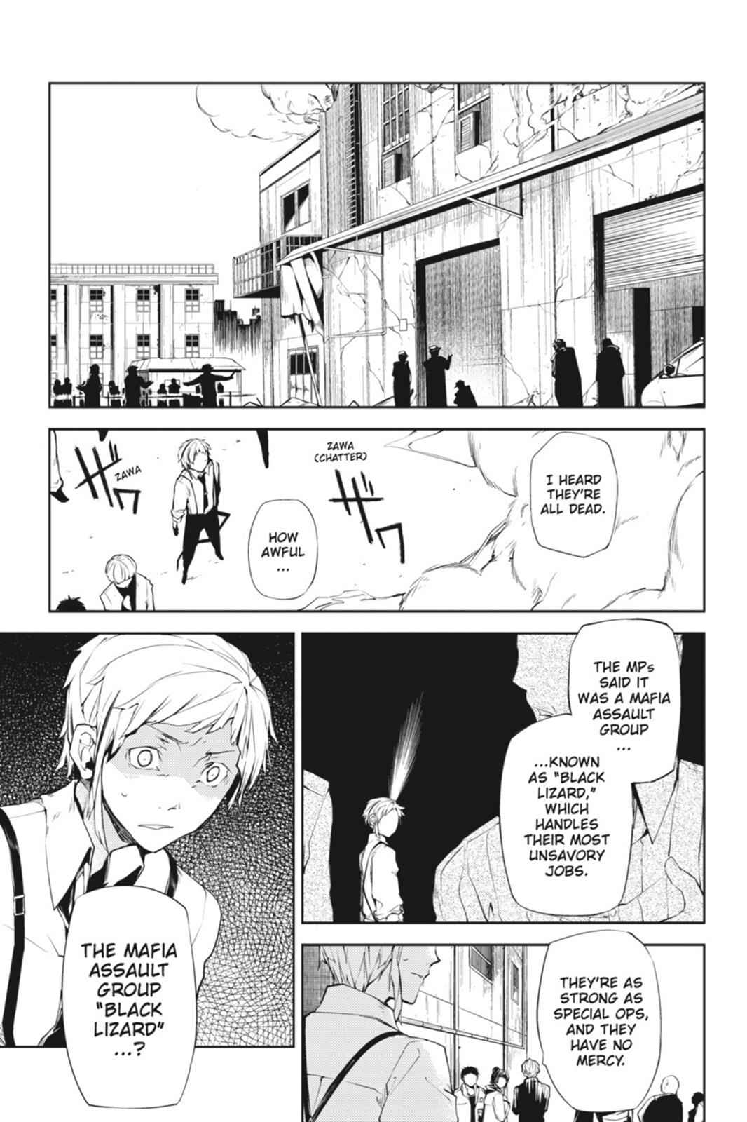 Bungou Stray Dogs Chapter 5 Page 21