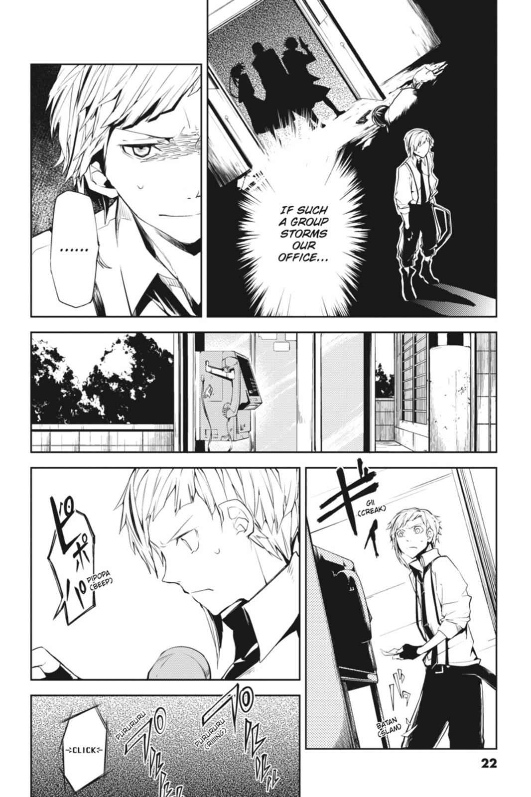 Bungou Stray Dogs Chapter 5 Page 22