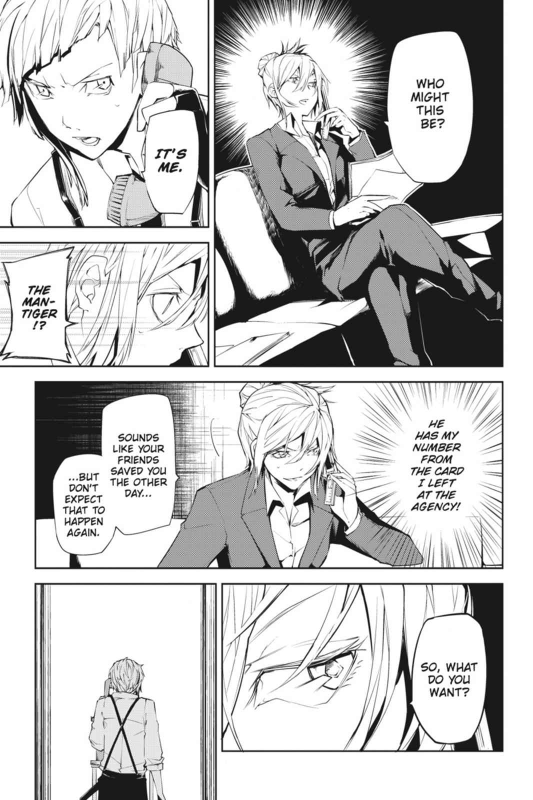Bungou Stray Dogs Chapter 5 Page 23