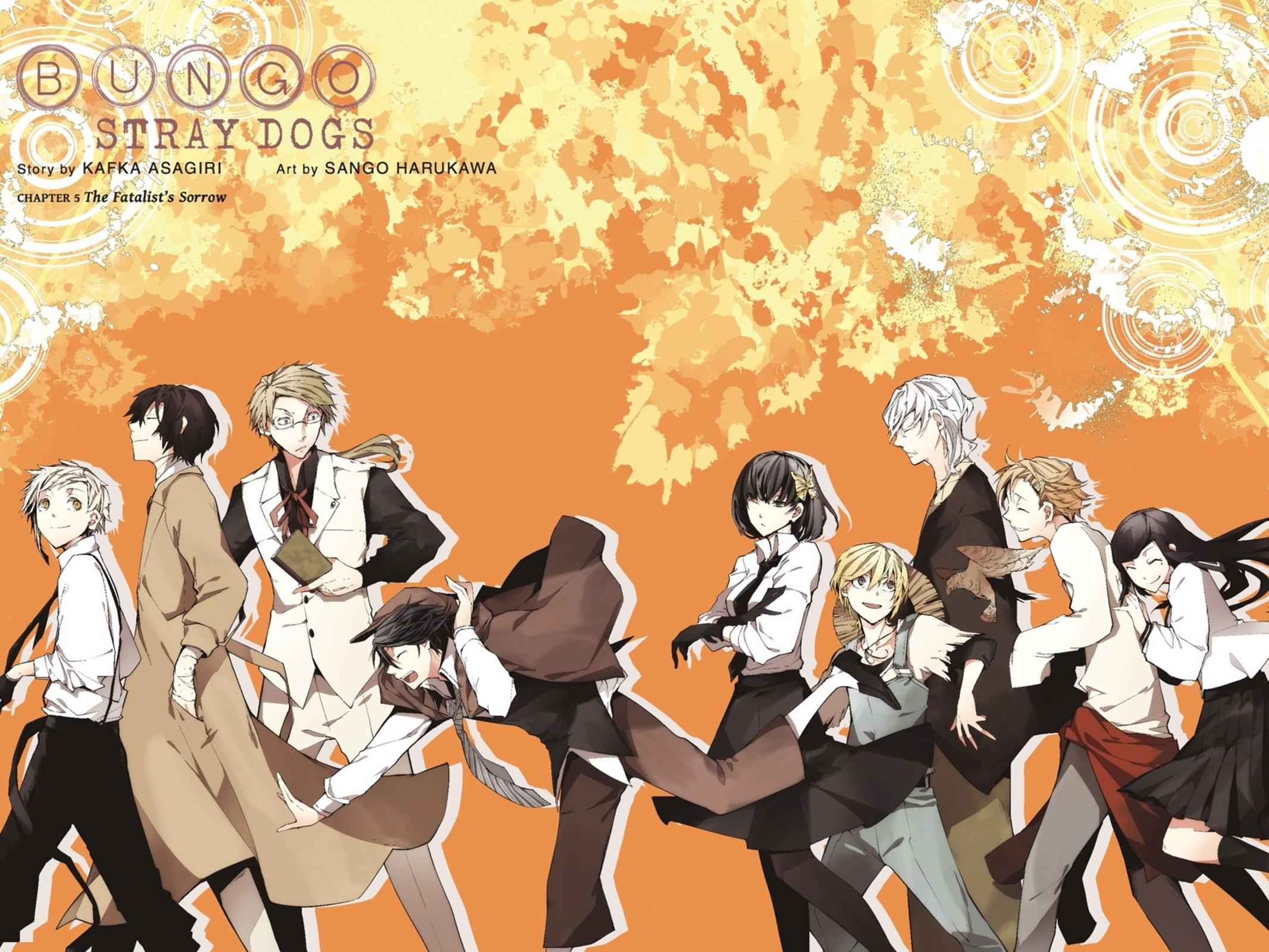 Bungou Stray Dogs Chapter 5 Page 3