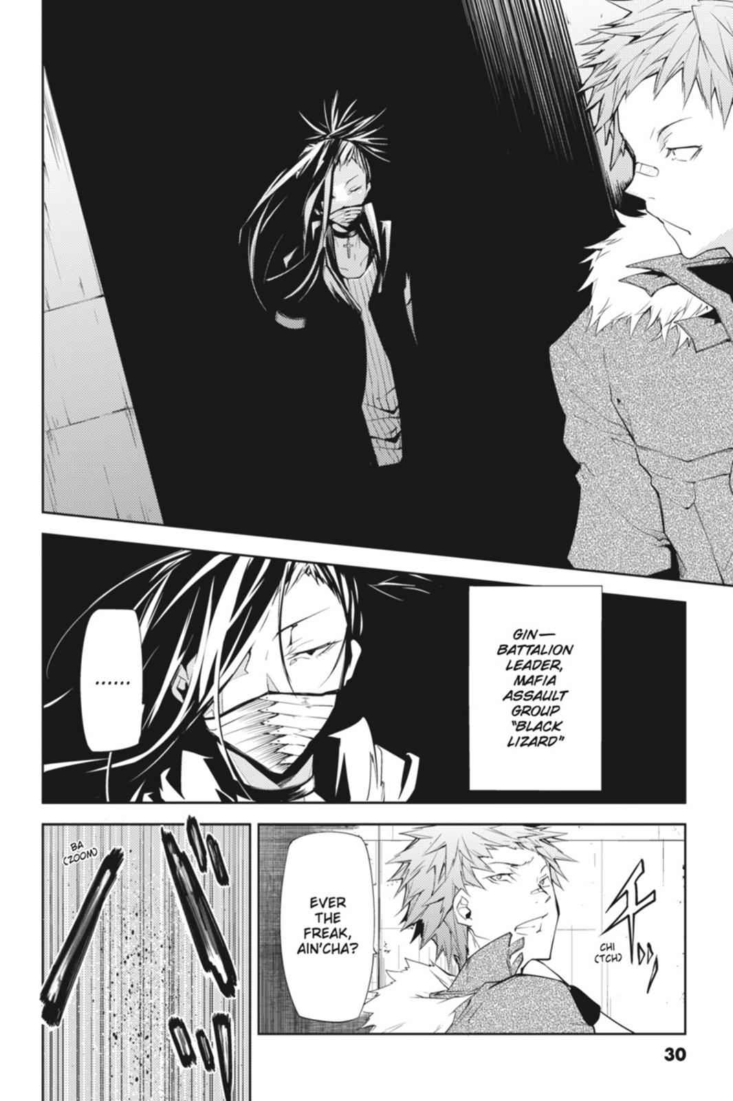 Bungou Stray Dogs Chapter 5 Page 30