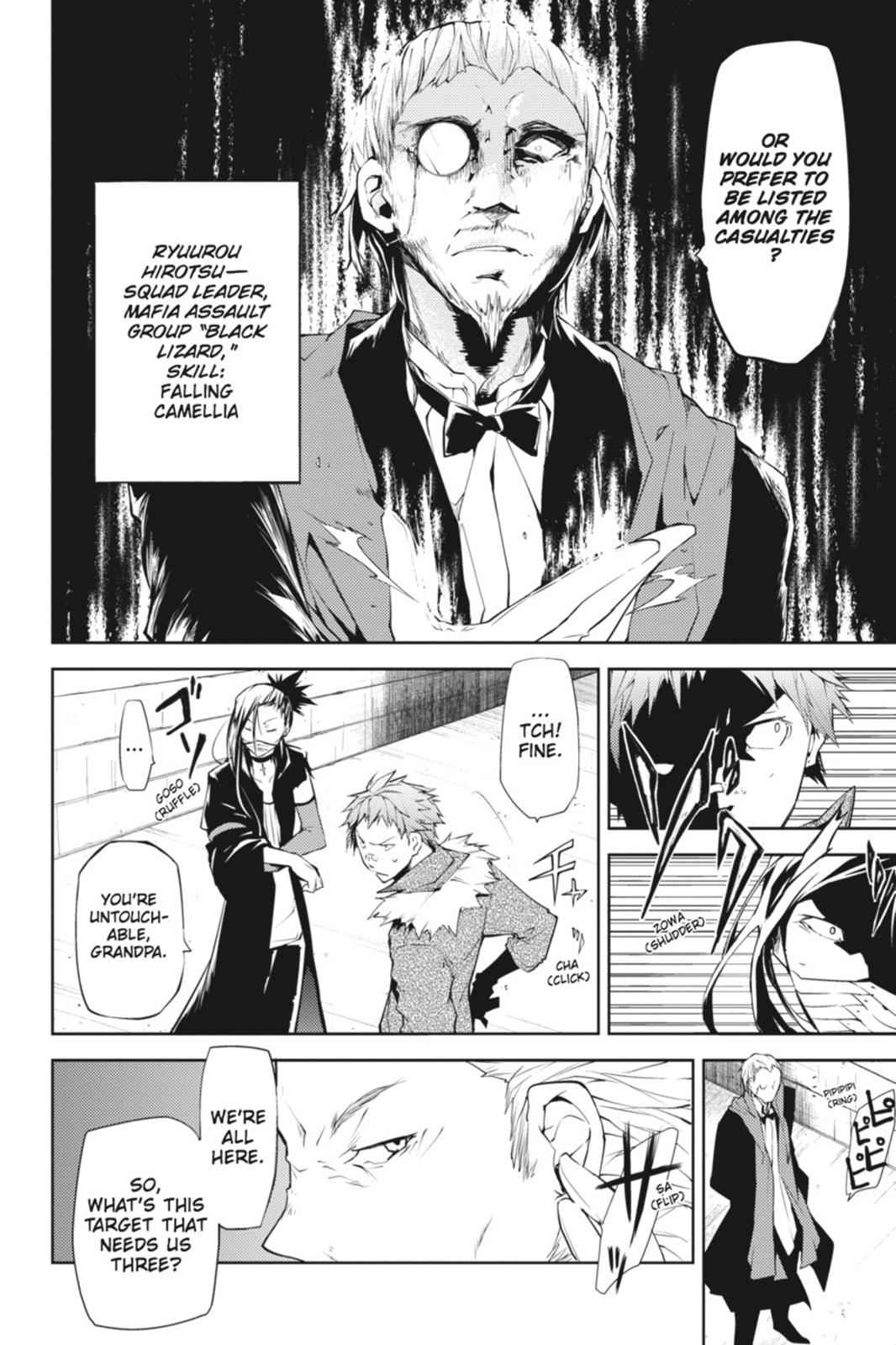 Bungou Stray Dogs Chapter 5 Page 32