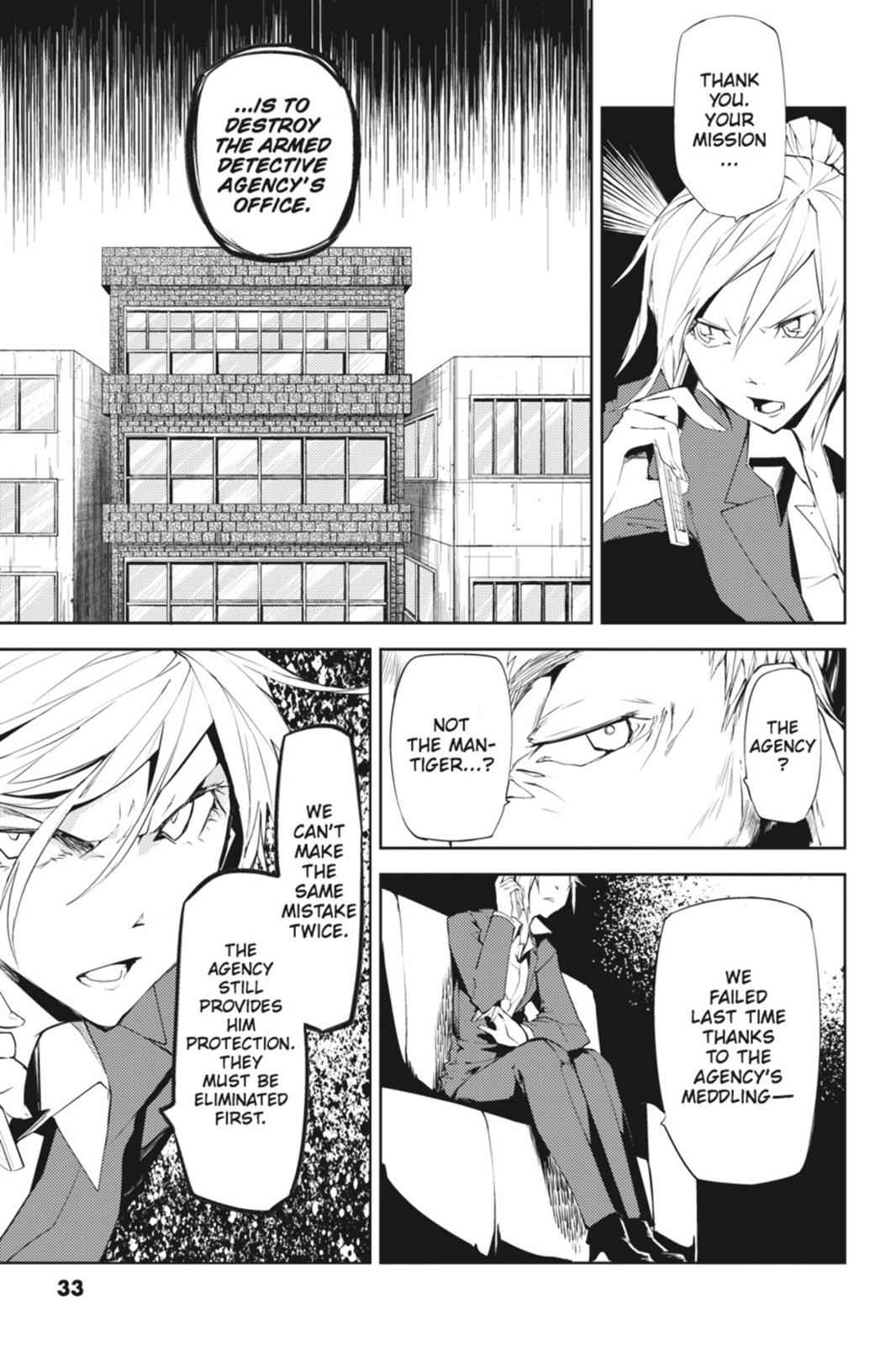 Bungou Stray Dogs Chapter 5 Page 33